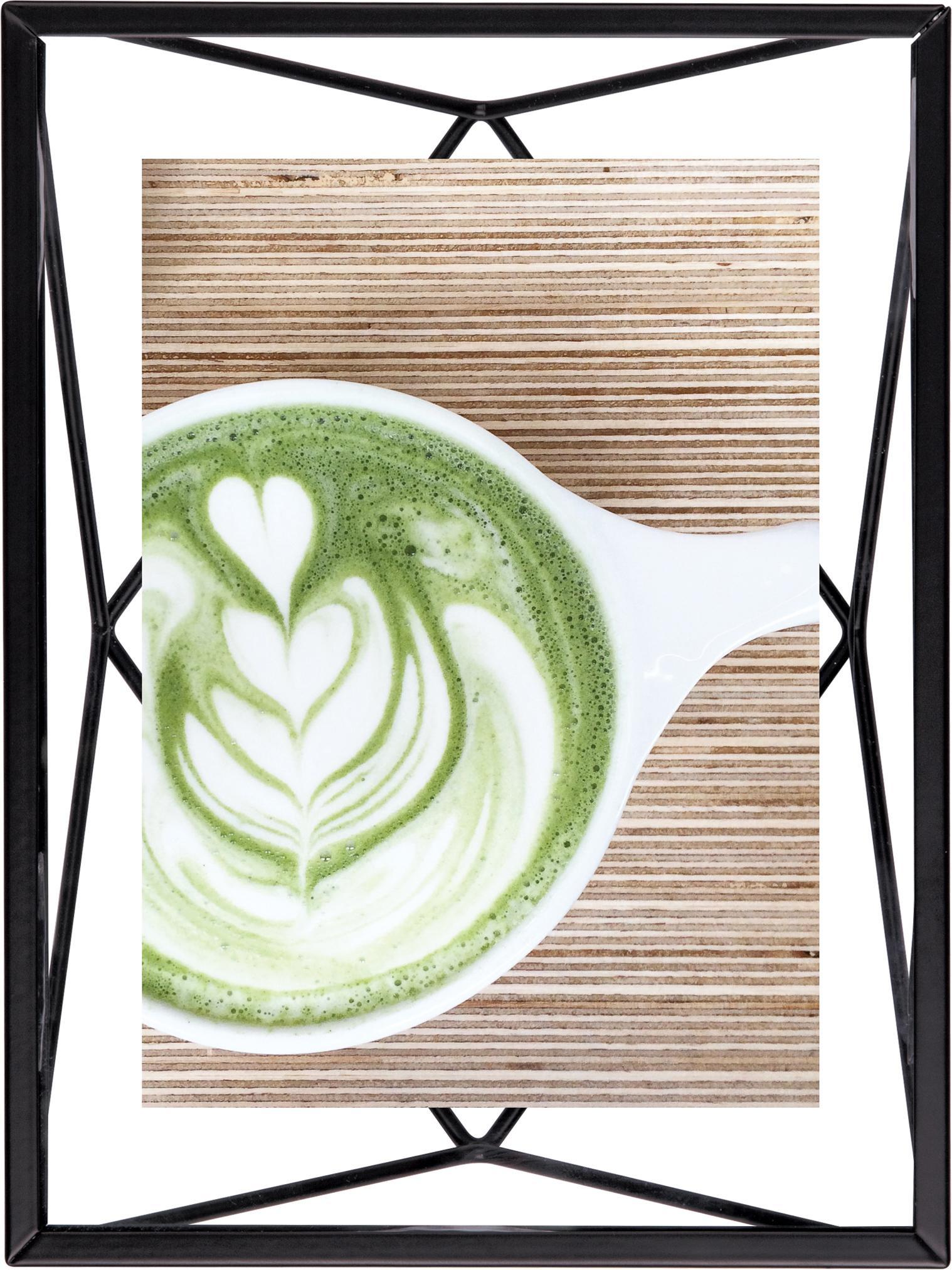Ramka na zdjęcia Prisma, Czarny, 10 x 15 cm