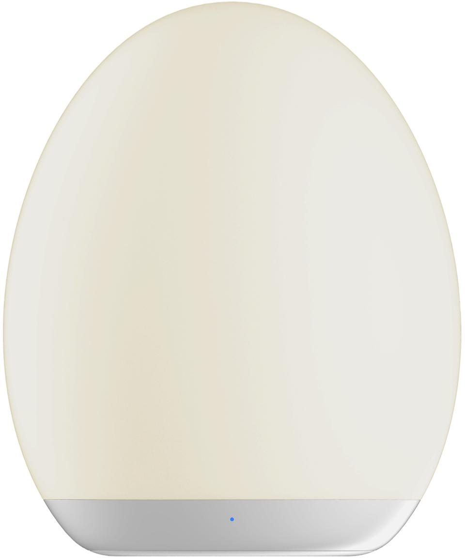 LED Aussenleuchte Nadia, Kunststoff (ABS), Weiss, Ø 9 x H 11 cm