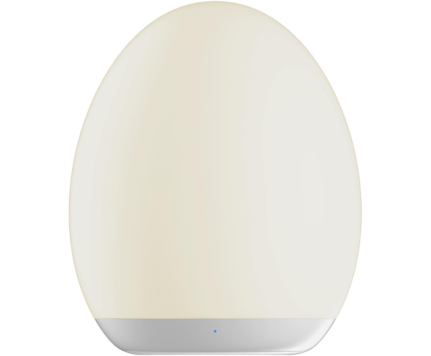LED Außenleuchte Nadia, Kunststoff (ABS), Weiß, Ø 9 x H 11 cm