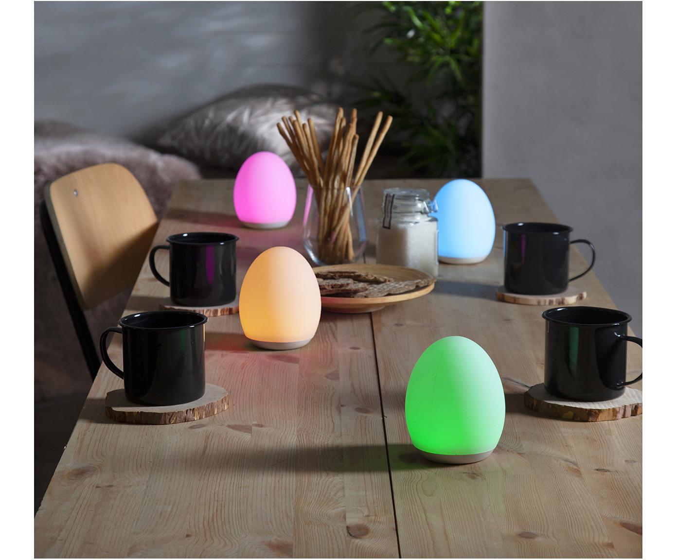 Lampa zewnętrzna LED Nadia, Tworzywo sztuczne (ABS), Biały, Ø 9 x W 11 cm