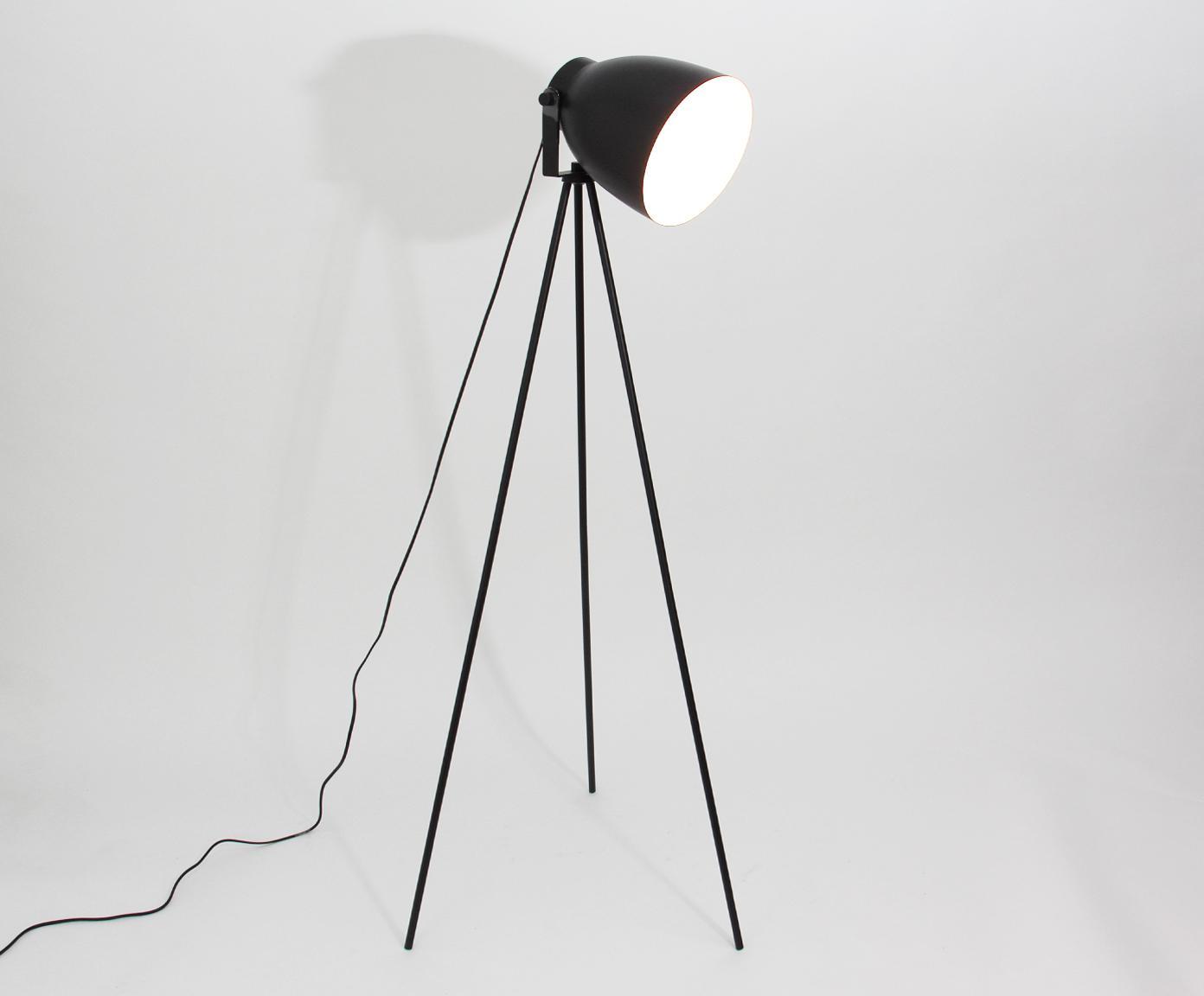 Liseuse noire style industriel Studio, Noir mat
