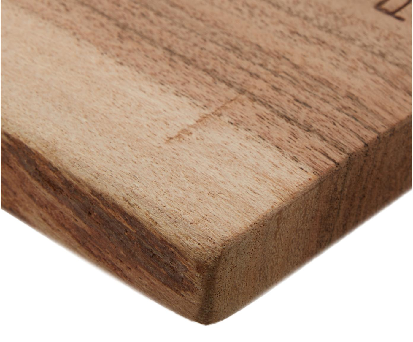 Deska do krojenia Limitless, Drewno akacjowe, Drewno akacjowe, S 65 x G 15 cm