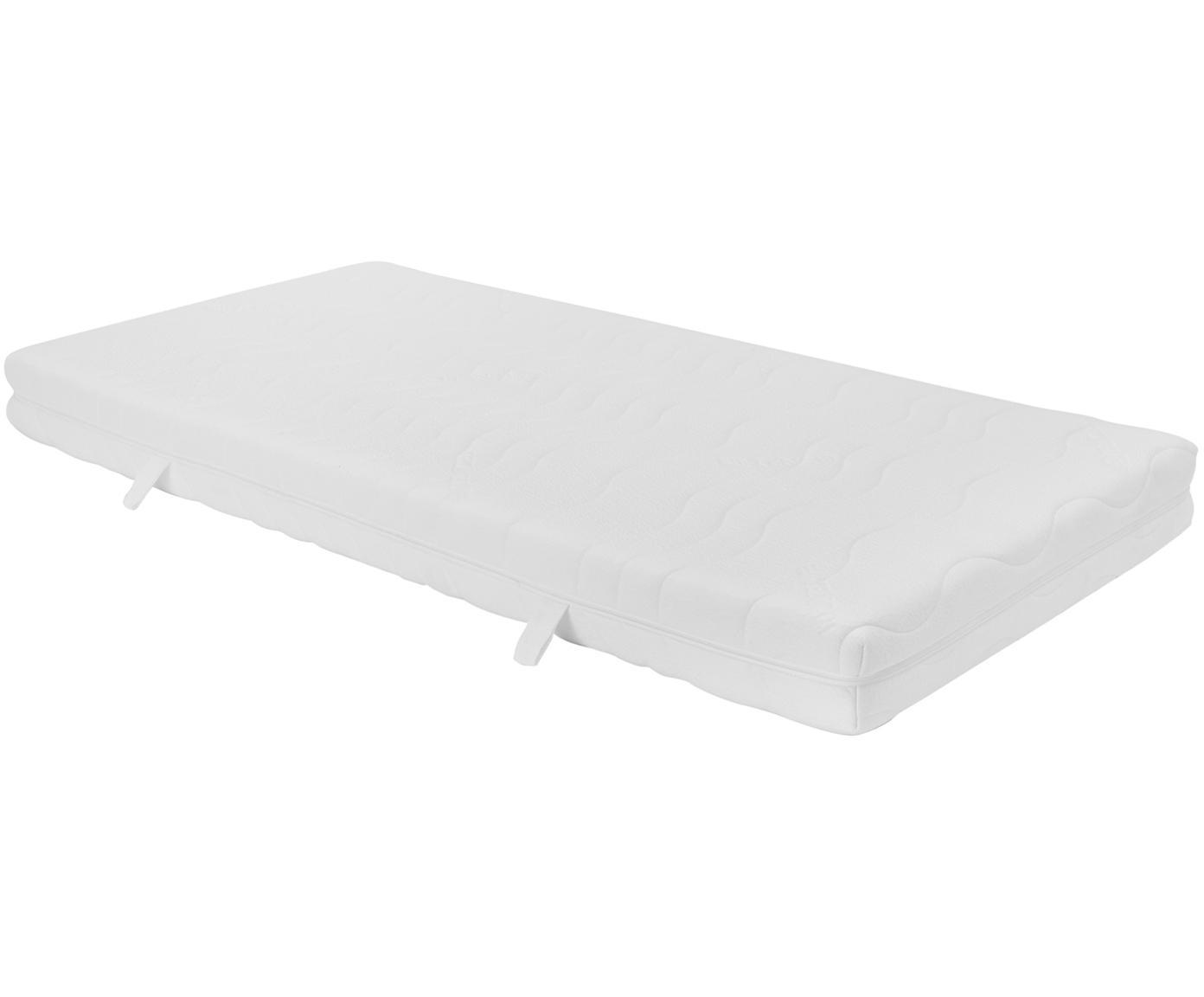 Materasso in schiuma fredda Vital, Rivestimento: doppia maglia TENCEL® (56, Rivestimento: circa 350 g/m² di fibra t, Bianco, 90 x 200 cm