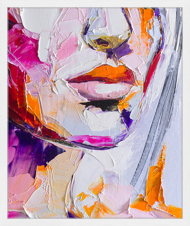 Stampa digitale incorniciata Cranberry In Sugar, Immagine: stampa digitale su carta,, Cornice: legno verniciato, Multicolore, Larg. 43 x Alt. 53 cm