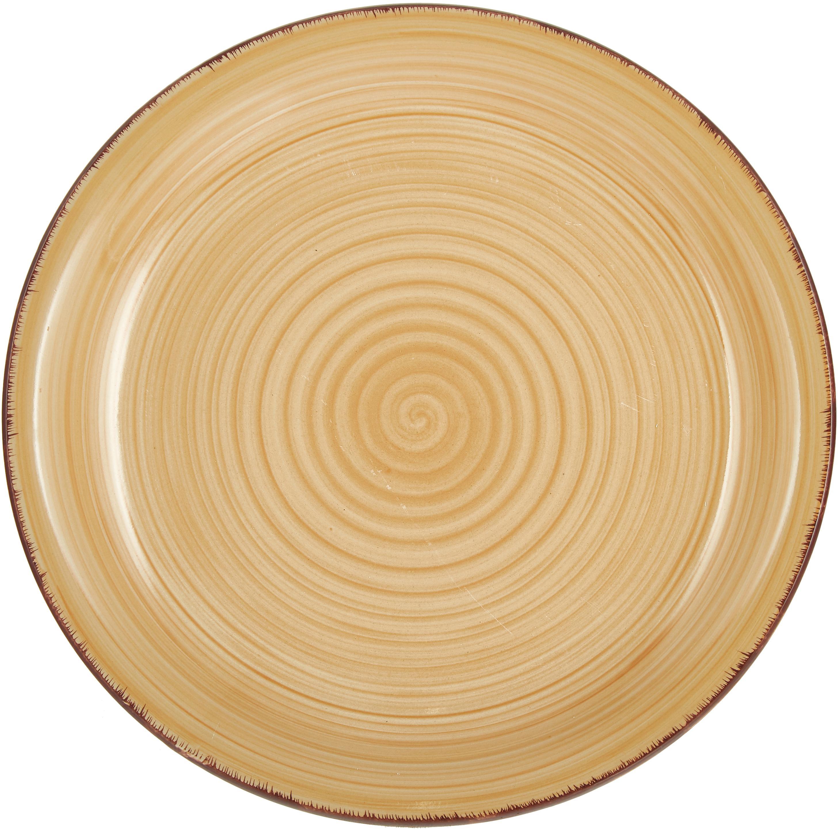 Service de table Baita, 6 personnes (18-tlg.), Bleu foncé, rouge, vert, turquoise, jaune, orange clair