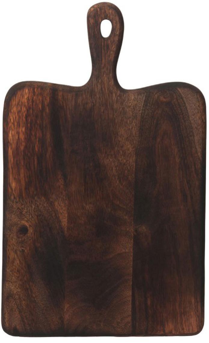Snijplank Branek, Hout, Mangohoutkleurig, 40 x 1 cm