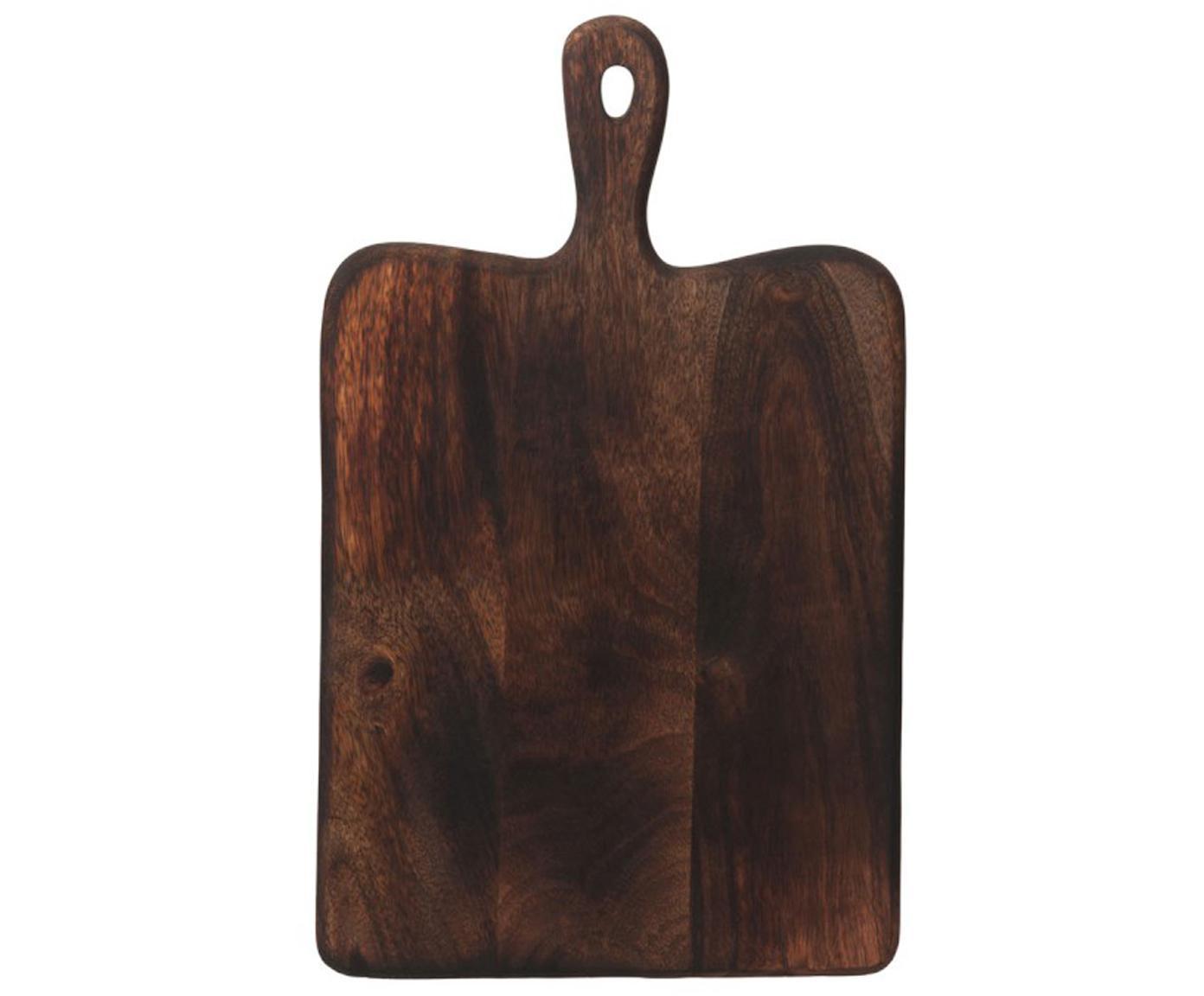 Deska do krojenia Branek, Drewno naturalne, Ciemny brązowy, S 40 x W 1 cm