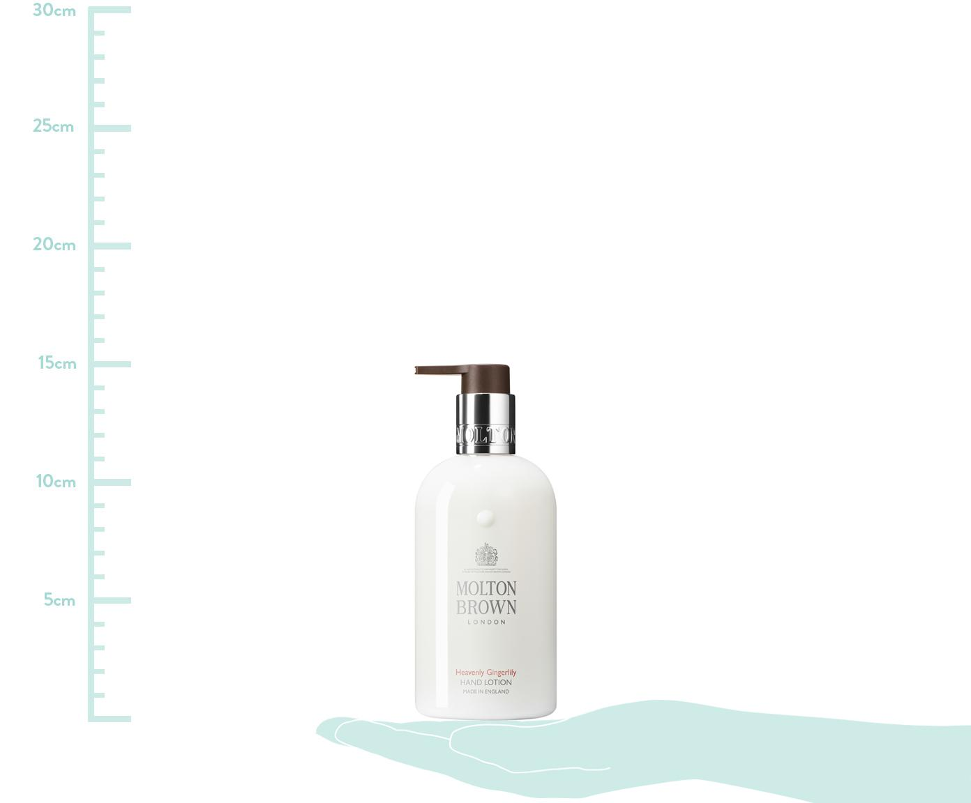 Handcreme Molton (Ingwer), Behälter: Recycelbarer Kunststoff, Weiß, Ø 6 x H 15 cm