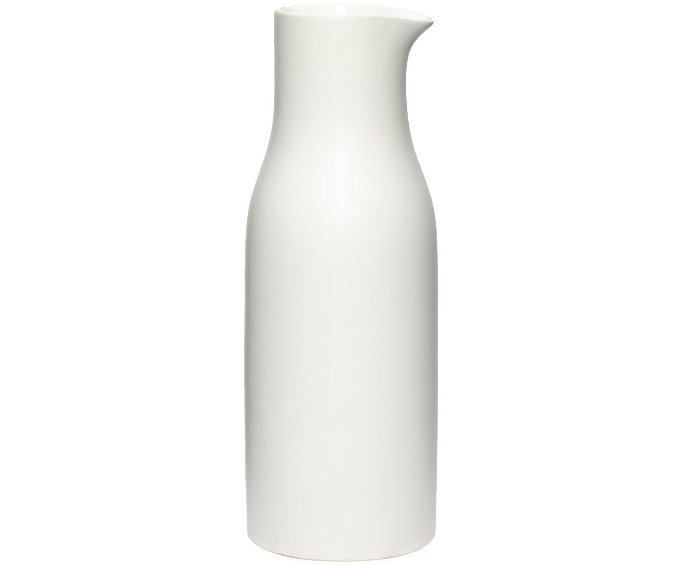 Jarra Sogbo, Porcelana, Blanco, 1.5 L