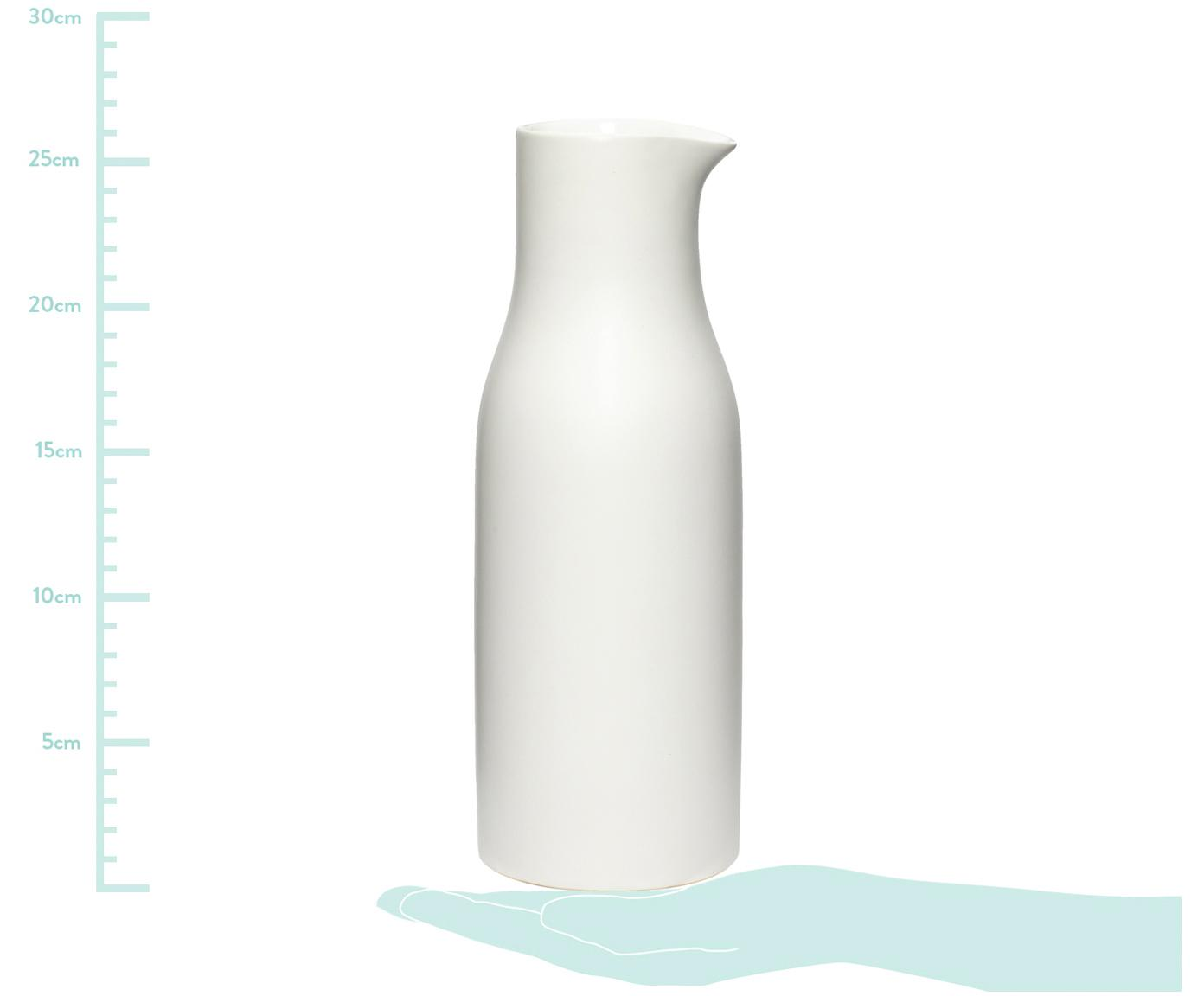 Krug Sogbo, Porzellan, Weiß, 1.5 L