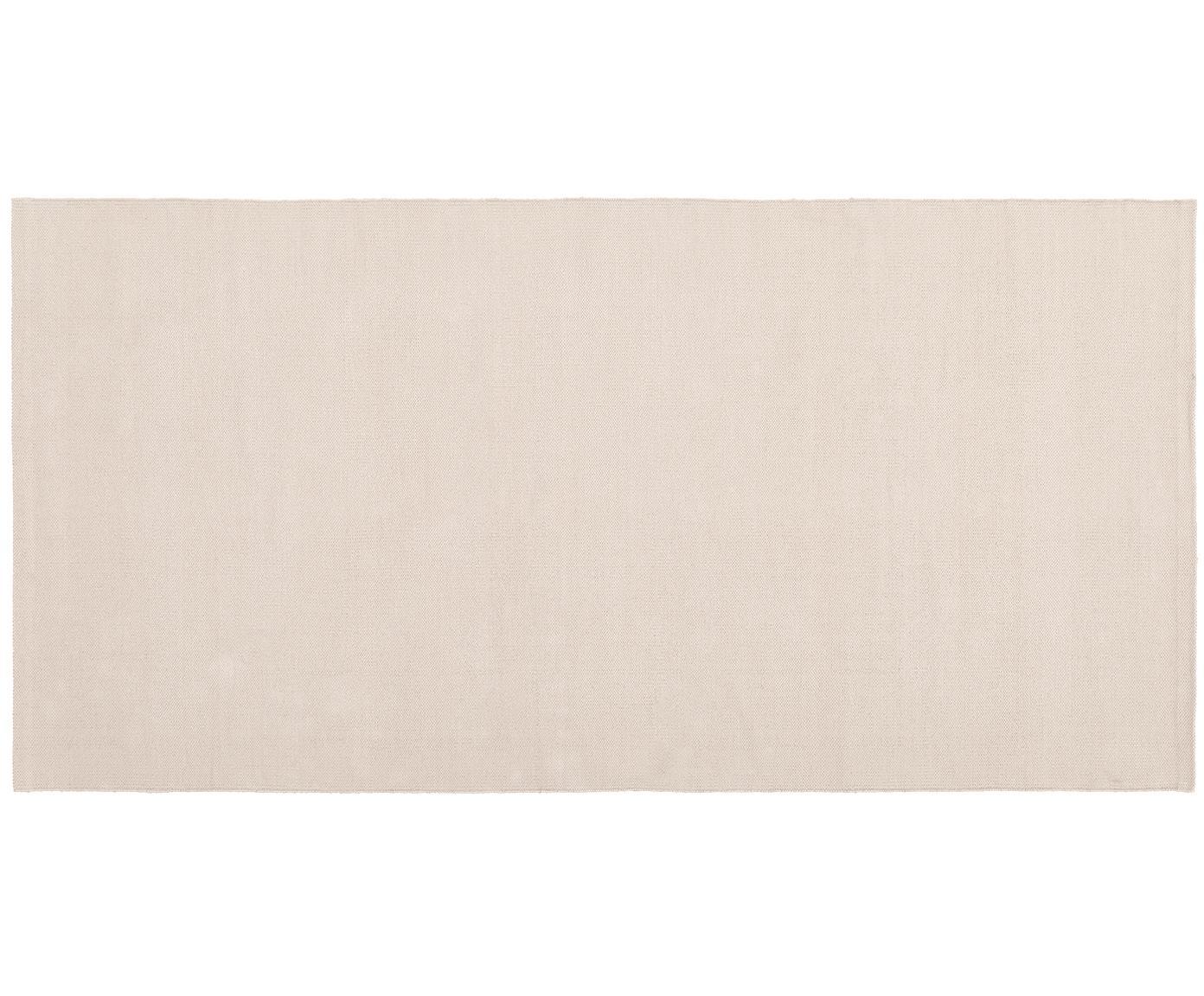 Ręcznie tkany dywan z bawełny Agneta, Bawełna, Beżowy, S 200 x D 300 cm (Rozmiar L)