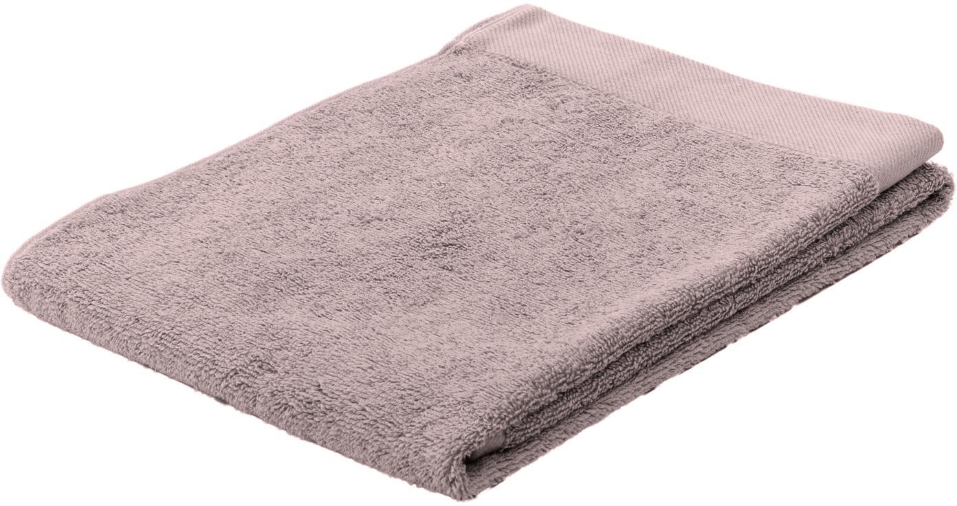 Handdoek Blend van gerecycled katoenmix, Poederroze, Gastendoekje