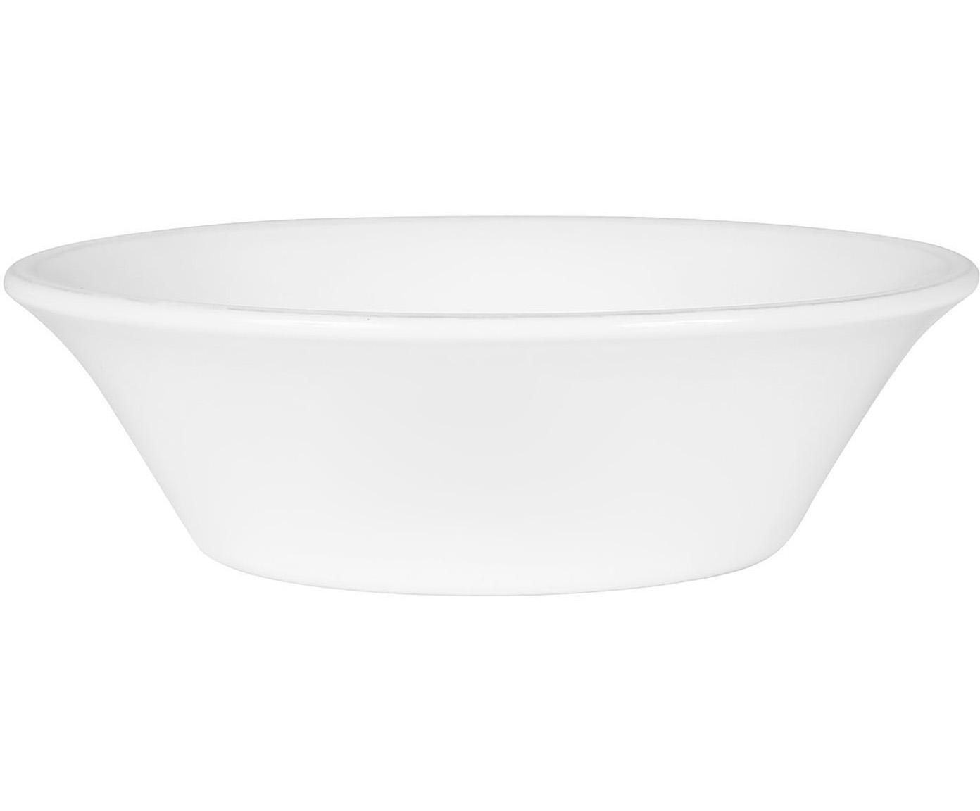 Kommen Constance in wit, 2 stuks, Keramiek, Wit, Ø 19 x H 5 cm