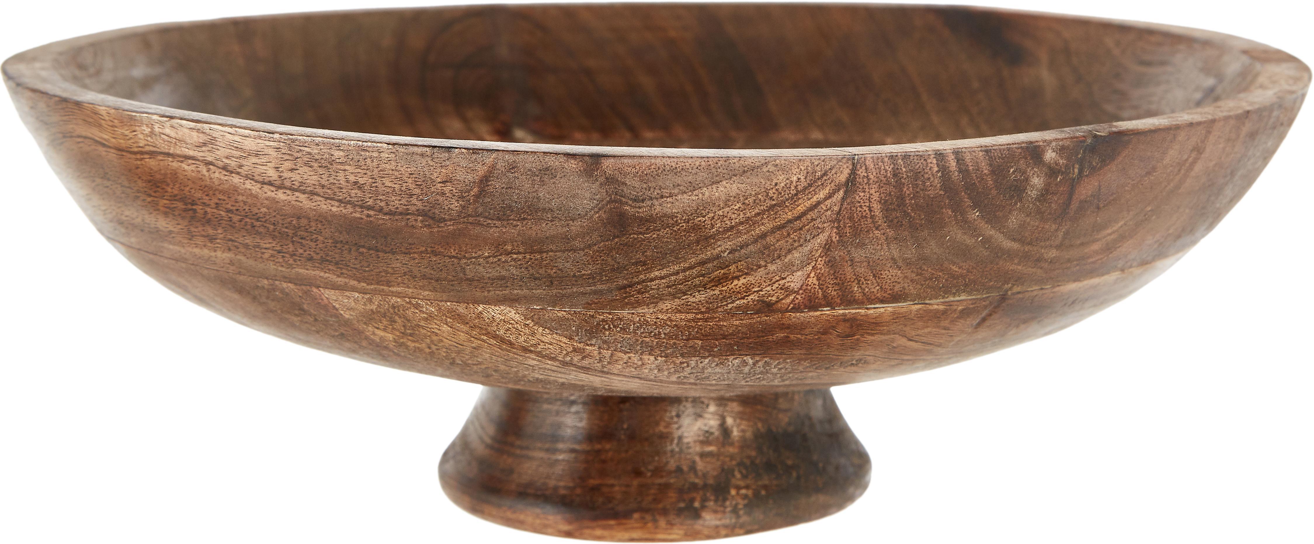Bol decorativo Helia, Madera de mango, Madera de mango, Ø 30 cm