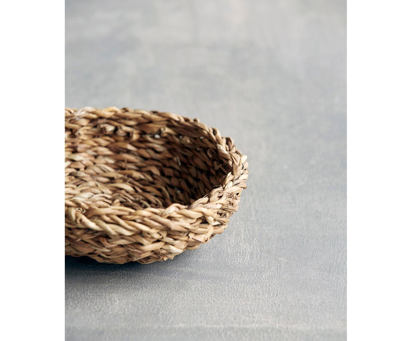 Komplet koszy na pieczywo z trawy morskiej Tango, 2 elem., Morszczyn, Morszczyn, Różne rozmiary