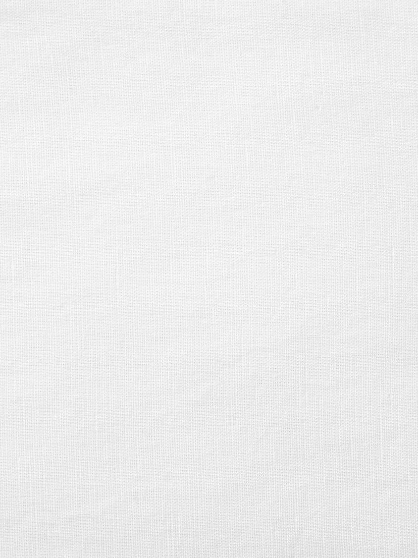 Gewaschene Leinen-Bettwäsche Nature in Weiss, Halbleinen (52% Leinen, 48% Baumwolle) Fadendichte 108 TC, Standard Qualität Halbleinen hat von Natur aus einen kernigen Griff und einen natürlichen Knitterlook, der durch den Stonewash-Effekt verstärkt wird. Es absorbiert bis zu 35% Luftfeuchtigkeit, trocknet sehr schnell und wirkt in Sommernächten angenehm kühlend. Die hohe Reissfestigkeit macht Halbleinen scheuerfest und strapazierfähig., Weiss, 135 x 200 cm + 1 Kissen 80 x 80 cm
