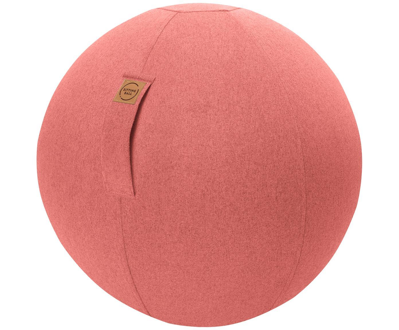 Balón suizo Felt, Funda: poliéster (cuero sintétic, Salmón, Ø 65 cm