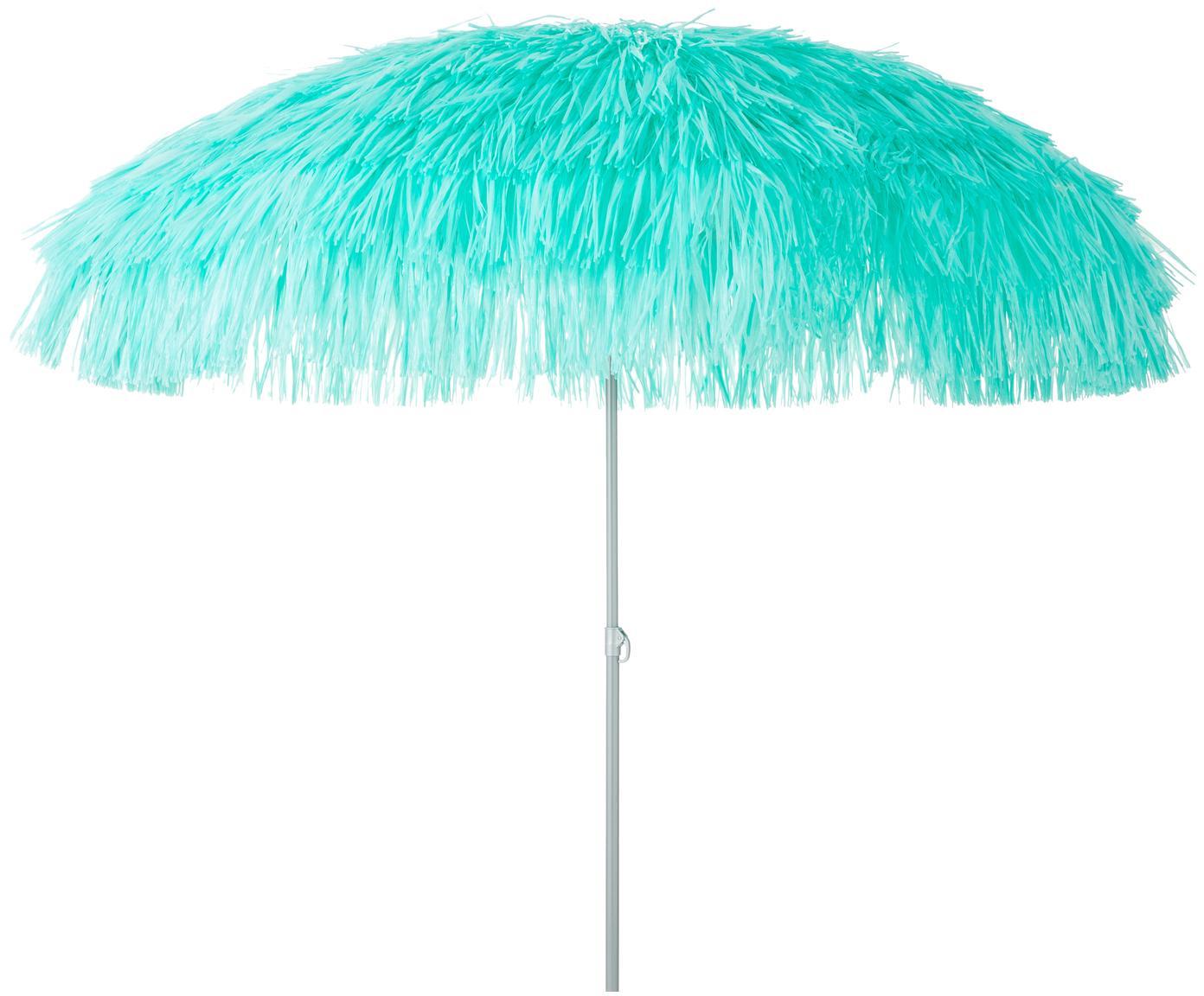 Parasol ogrodowy Hawaii, Turkusowy, Ø 200 x W 210 cm