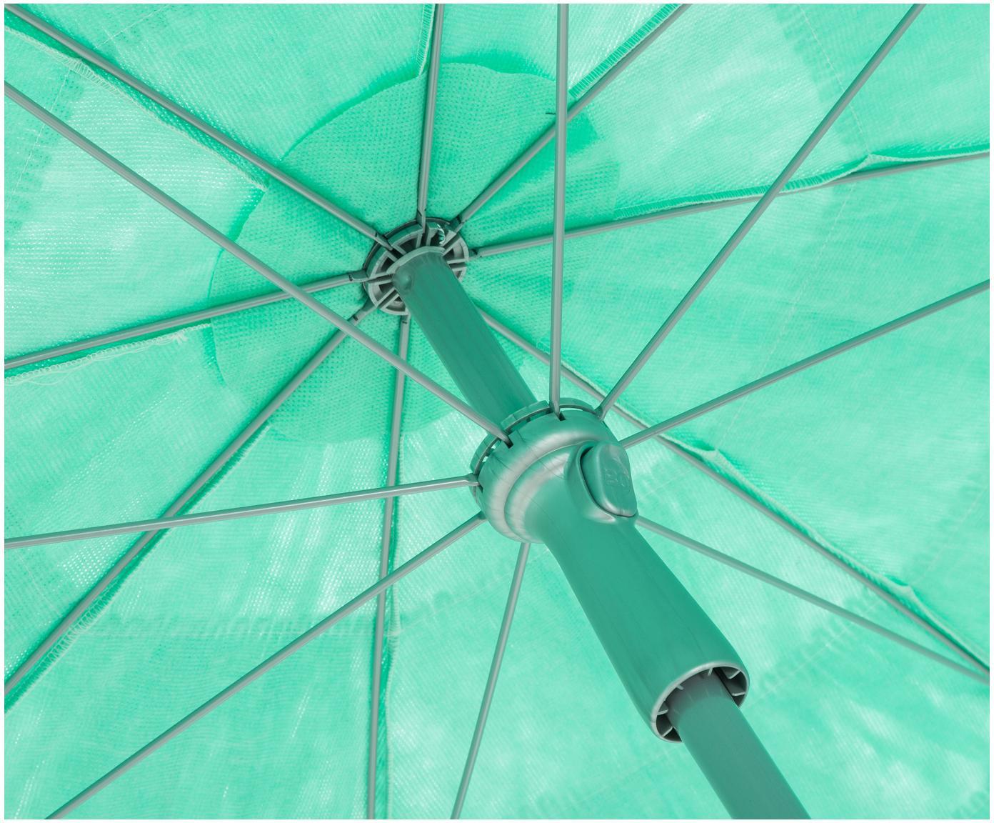 Parasol Hawaii, Turquoise, Ø 200 x H 210 cm