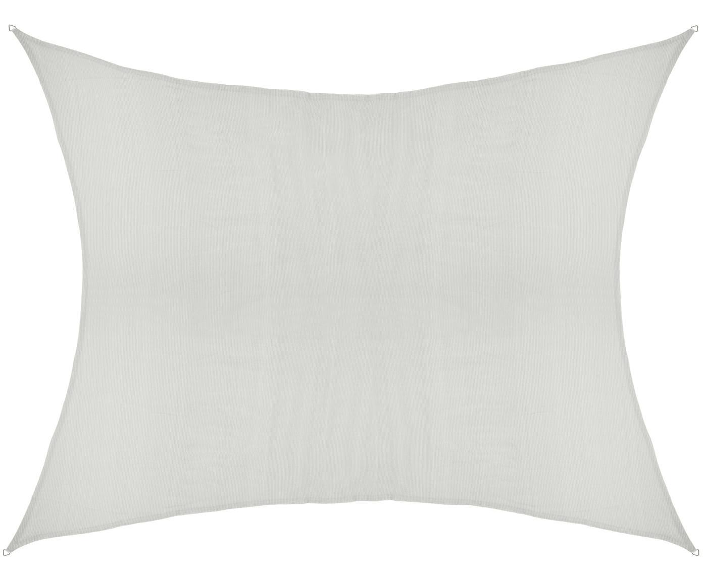 Sonnensegel Hope, Haken: Edelstahl, Weiß, 350 x 500 cm