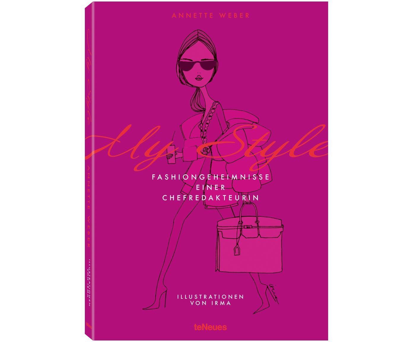 Bildband My Style, Fashiongeheimnisse einer Chefredakteurin, Papier, Hardcover, Mehrfarbig, 16 x 23 cm