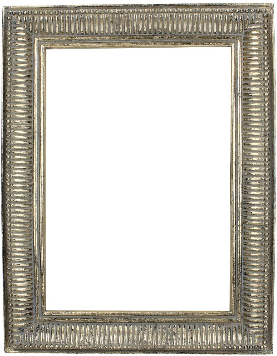 Bilderrahmen Insect, Rahmen: Polyresin, Front: Glas, Goldfarben, 22 x 22 cm