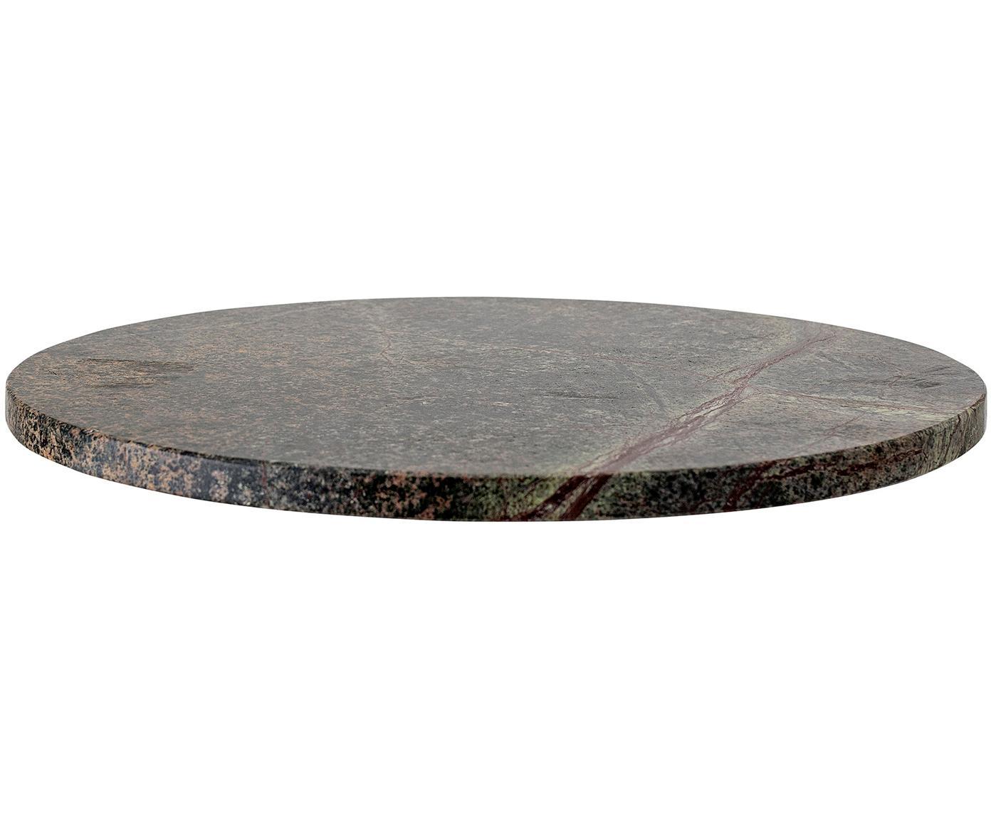 Servierplatte Lime, Kalkstein, Grün, Ø 30 cm