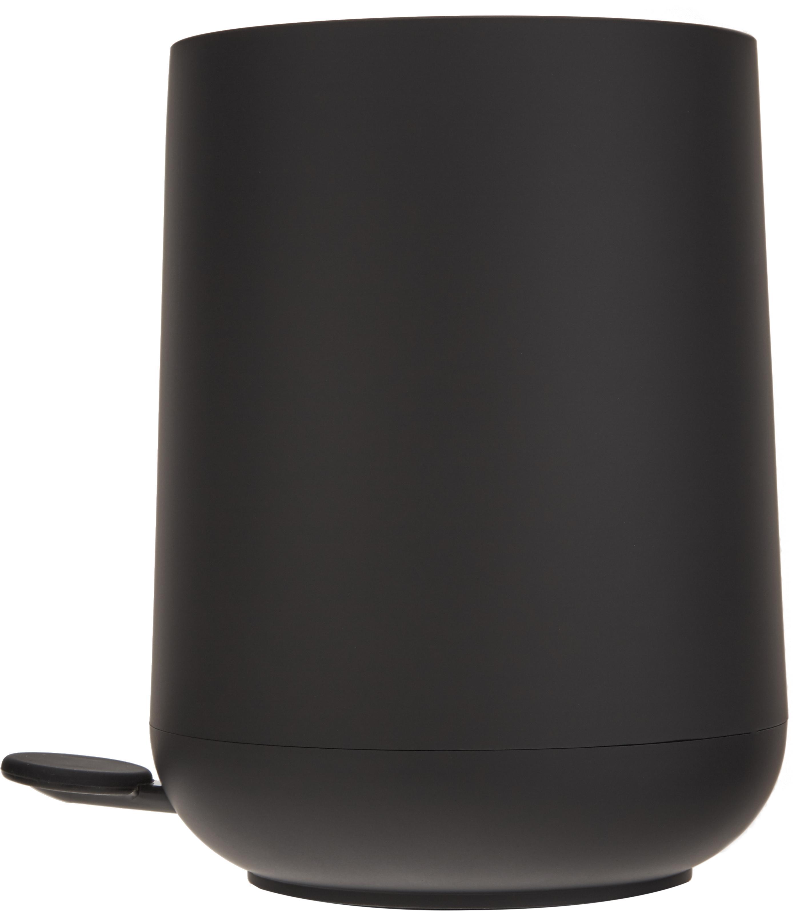 Pattumiera Nova, Materiale sintetico ABS, Nero, Ø 23 x A 29 cm