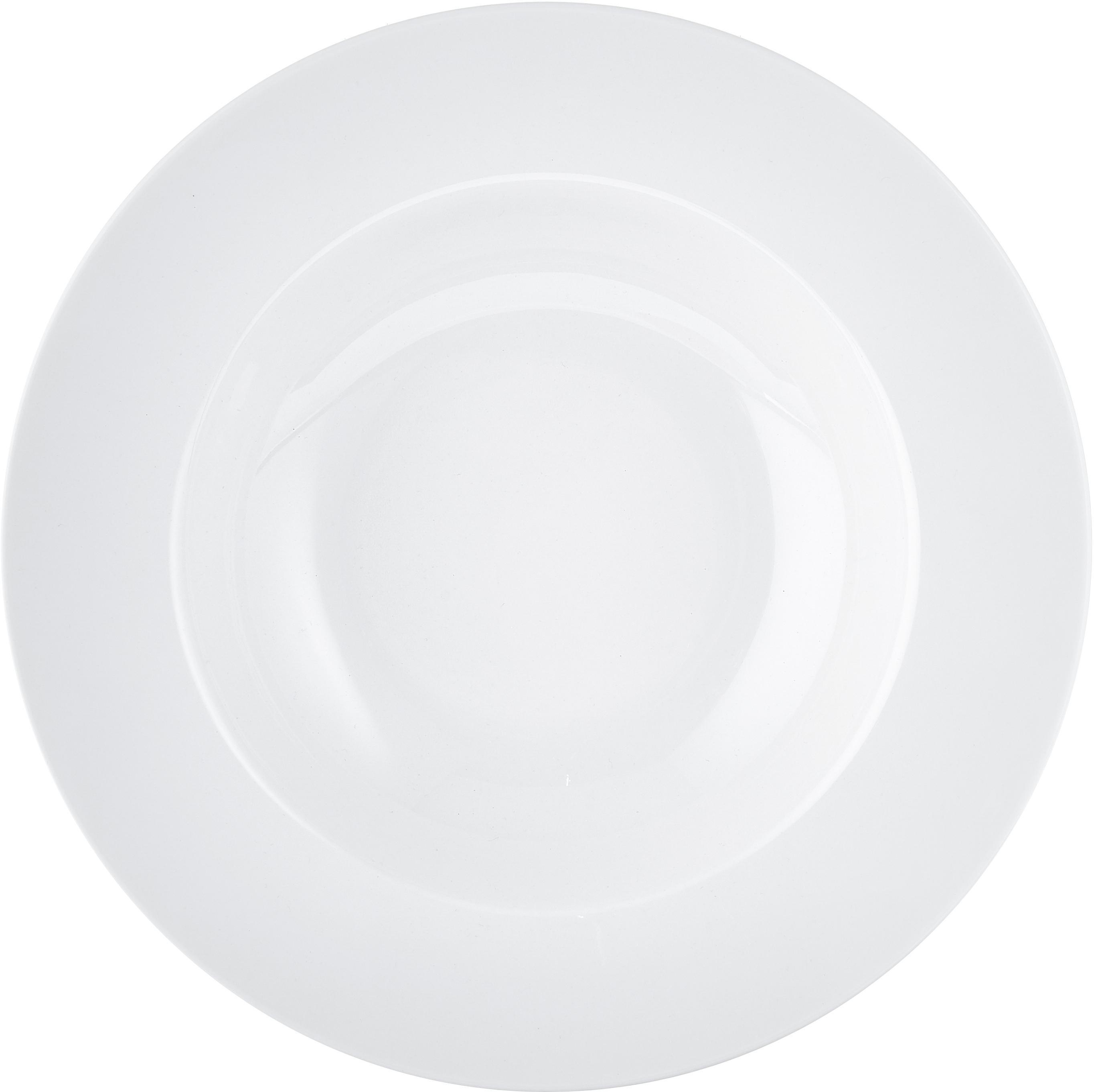 Serviesset For Me van porselein, 4 personen (8-delig), Porselein, Gebroken wit, Set met verschillende formaten