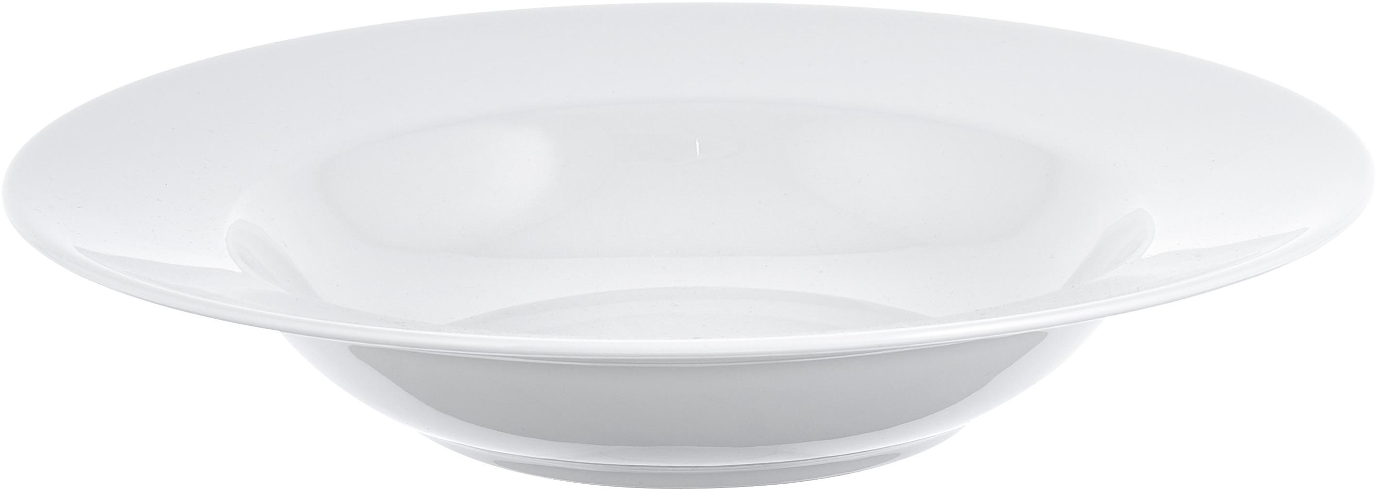 Geschirr-Set For Me aus Porzellan, 4 Personen (8-tlg.), Porzellan, Gebrochenes Weiß, Sondergrößen