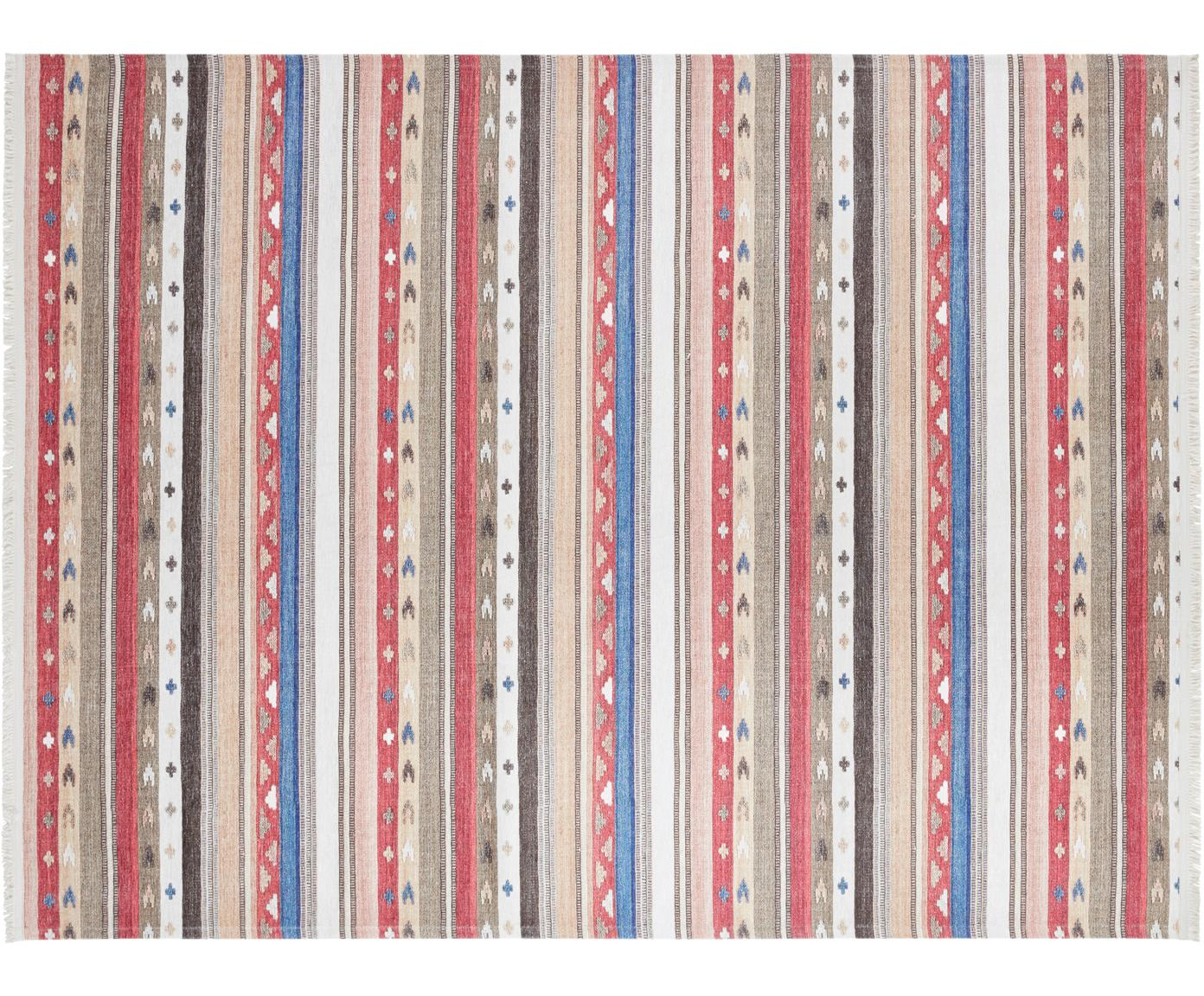 Teppich Senon im Orientstyle, Flor: 50%Polyester, 50%Baumwo, Mehrfarbig, B 120 x L 160 cm (Grösse S)