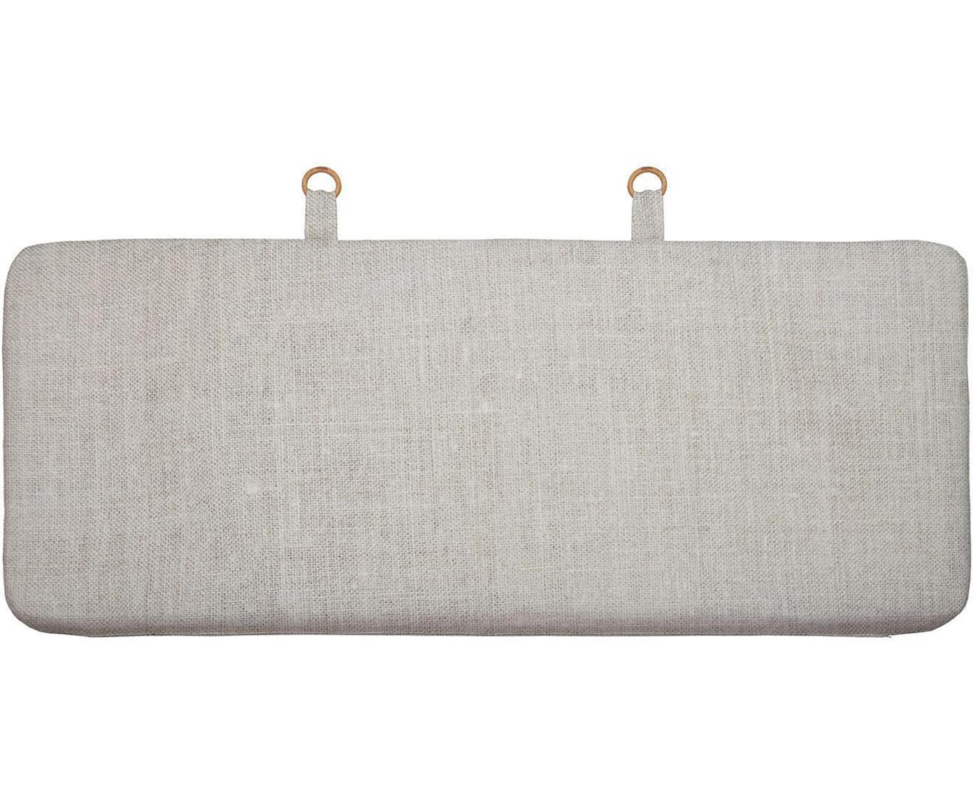 Cabecero Basic, Tapizado: lino, poliéster, Beige, An 155 x Al 65 cm
