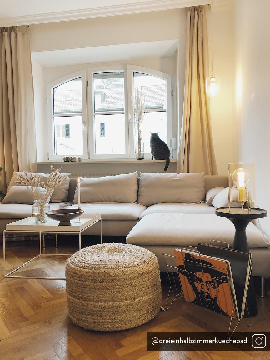 Tavolino rotondo nero Floss, Alluminio, verniciato a polvere, Nero opaco, Ø 28 x Alt. 56 cm