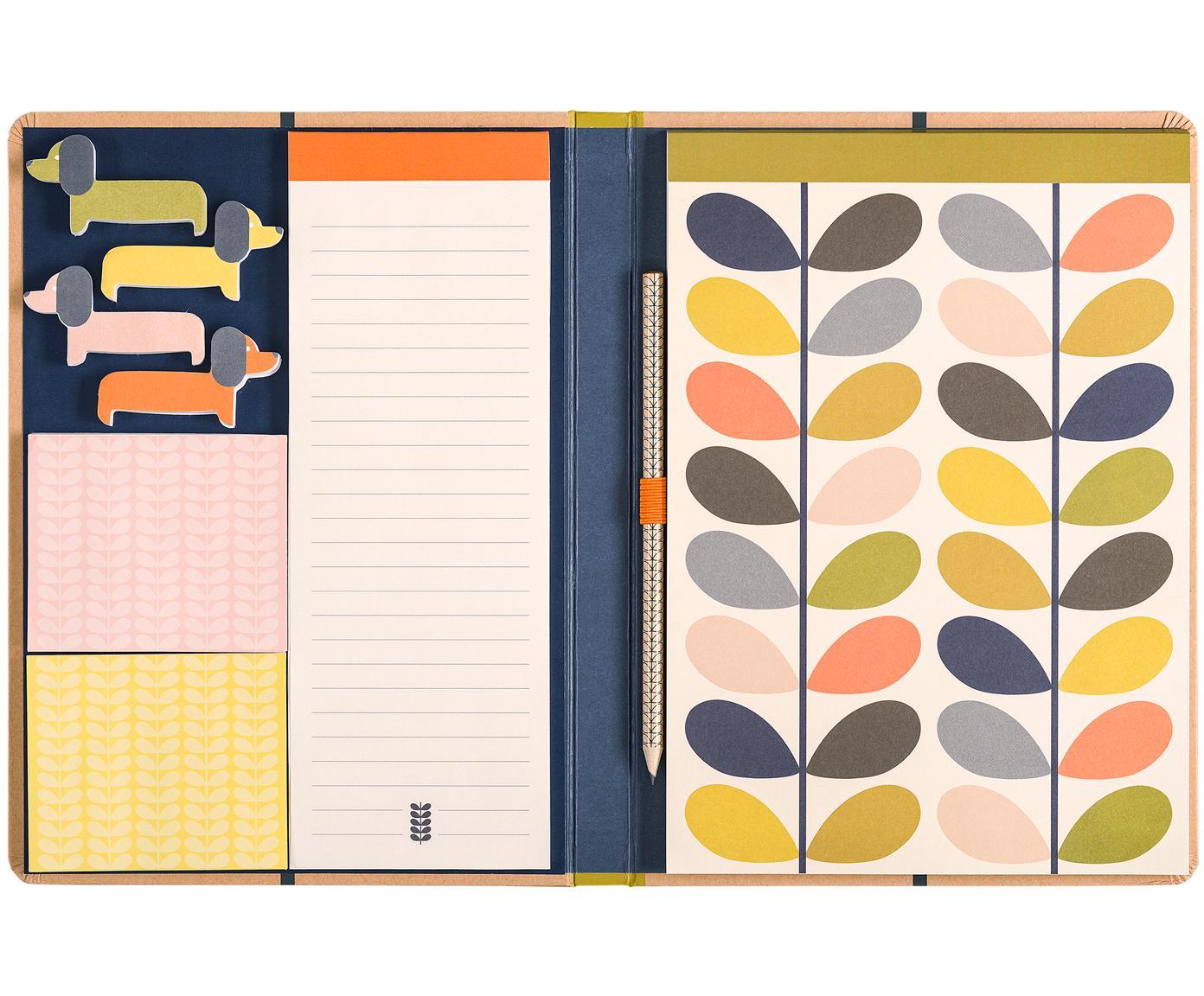 Set de notas 24 Colours, 24pzas., Papel, Multicolor, An 20 x Al 27 cm