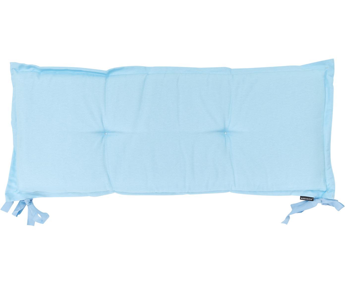 Cojín de banco Panama, Tapizado: 50%algodón, 45%poliéste, Azul claro, An 48 x L 150 cm