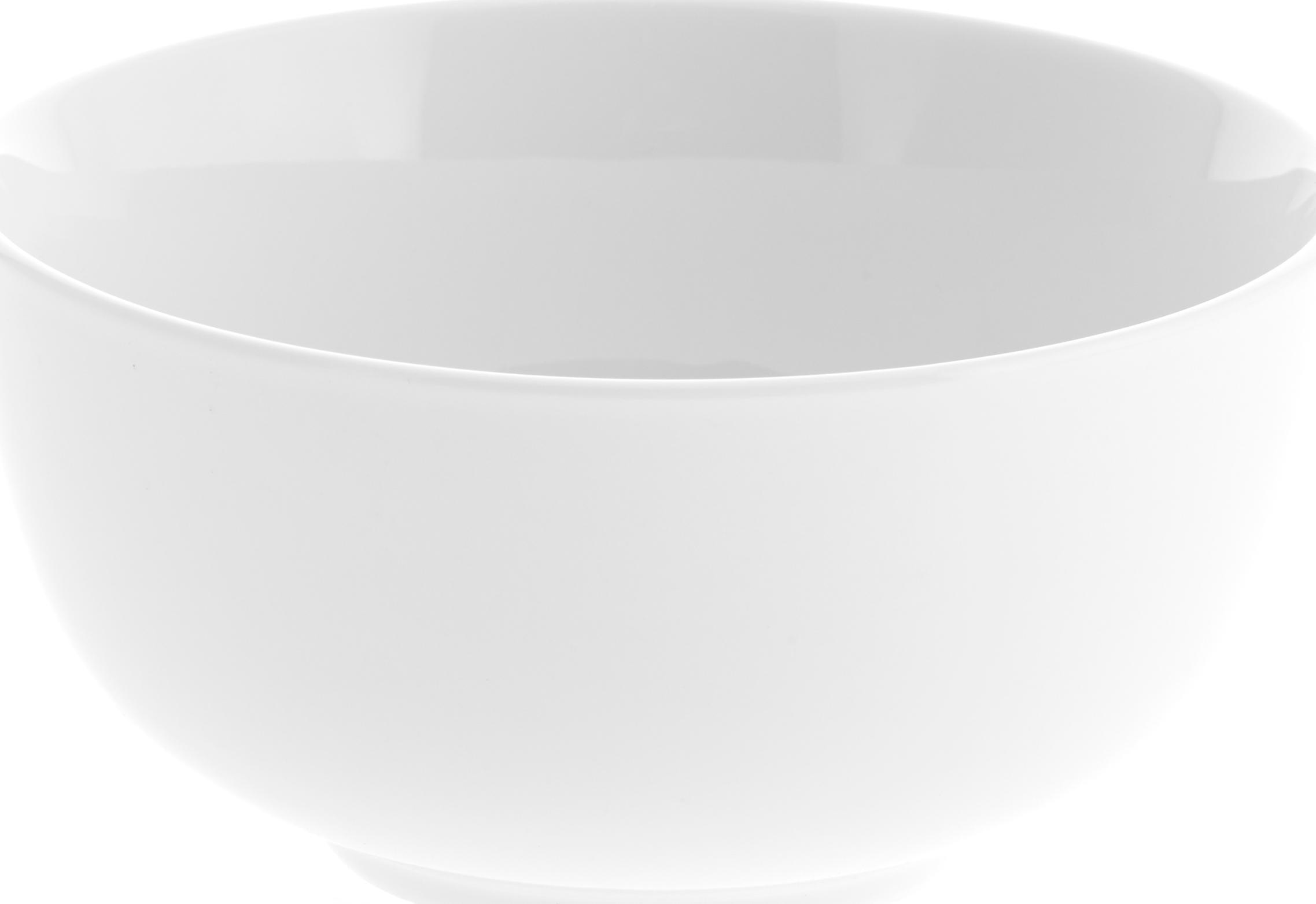 Porzellan-Schälchen Delight in Weiss, 2 Stück, Porzellan, Weiss, Ø 14 x H 7 cm