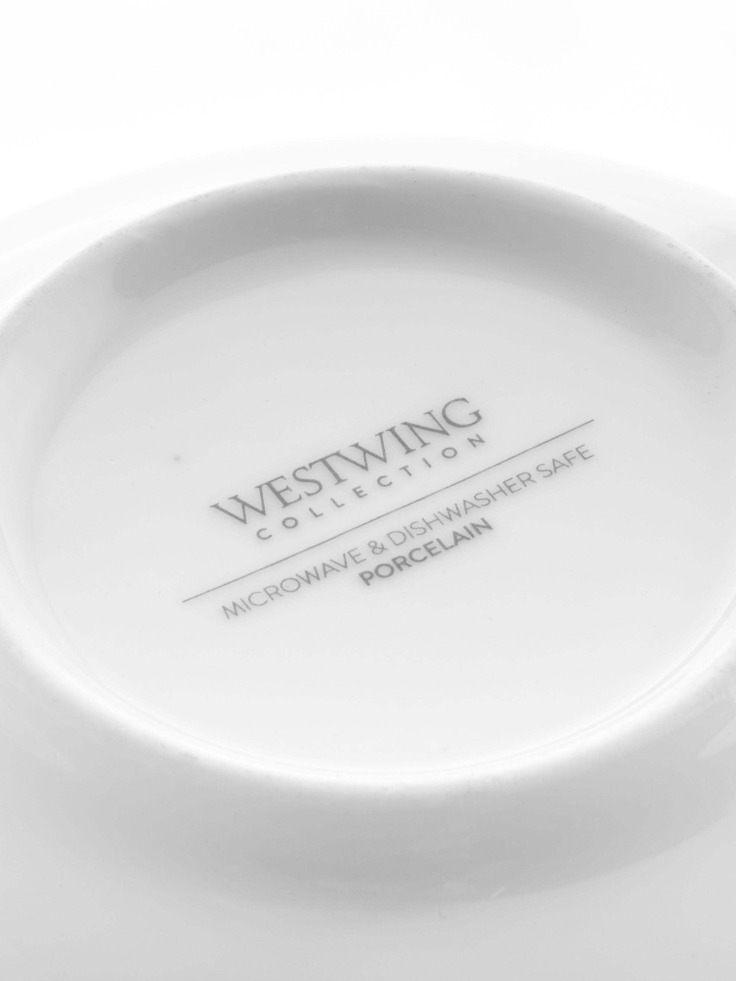 Ciotola Delight 2 pz, Porcellana, Bianco, Ø 14 x Alt. 7 cm