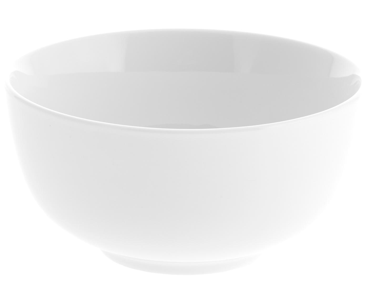 Cuencos Delight, 2uds., Porcelana, Blanco, Ø 14 x Al 7 cm