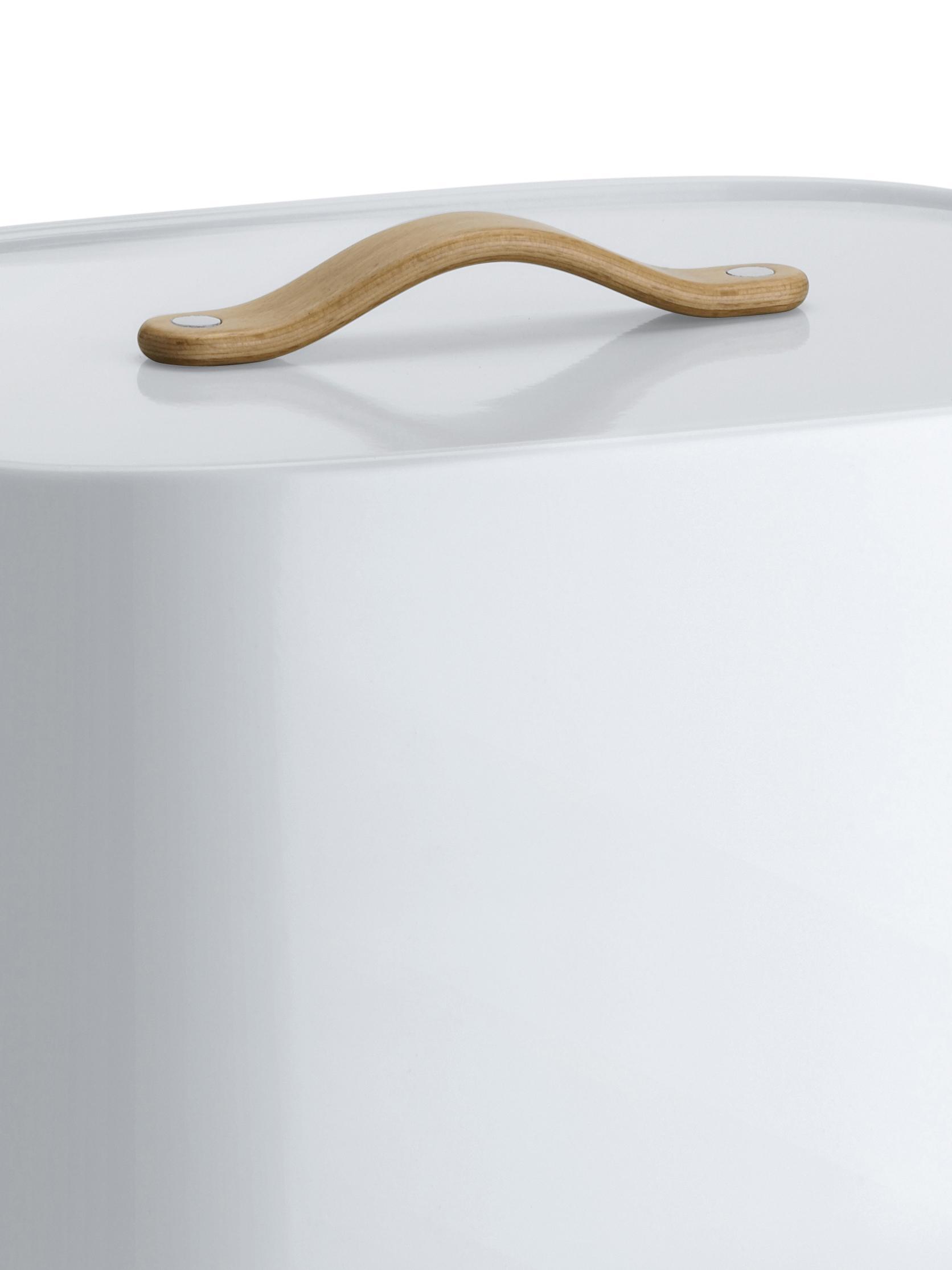 Chlebak Emma, Biały, S 33 x W 19 cm