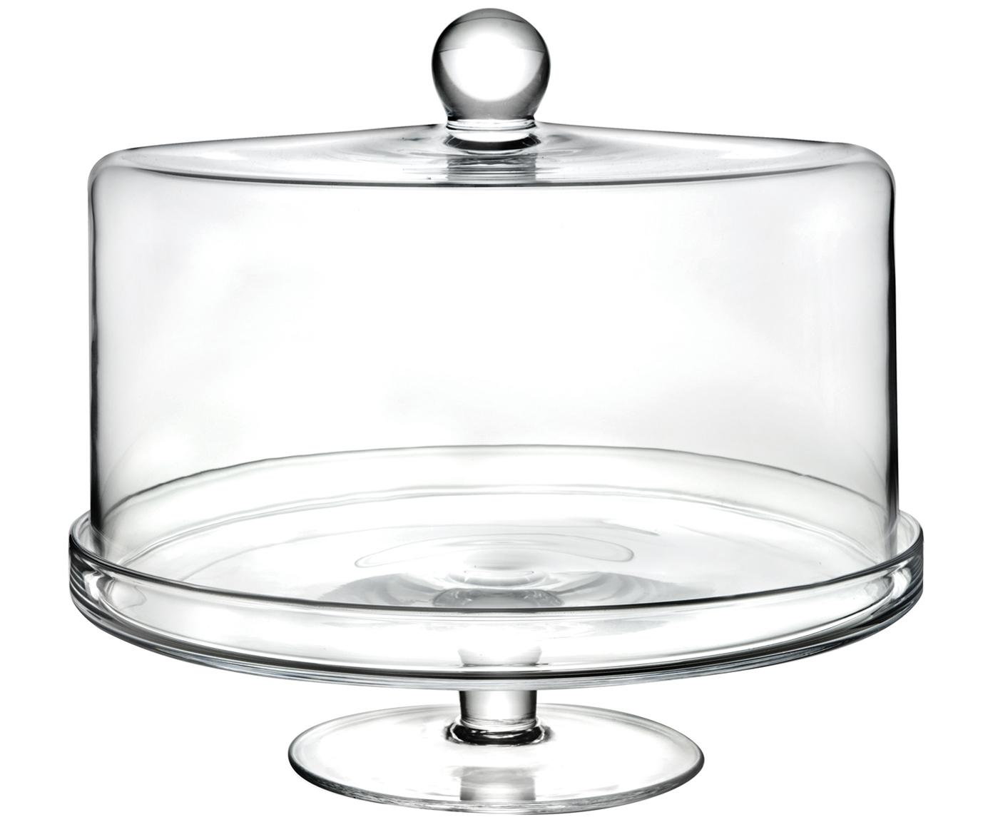 Kristalglas taartplateau Maja, Luxion kristalglas, Transparant, Ø 30 x H 25 cm