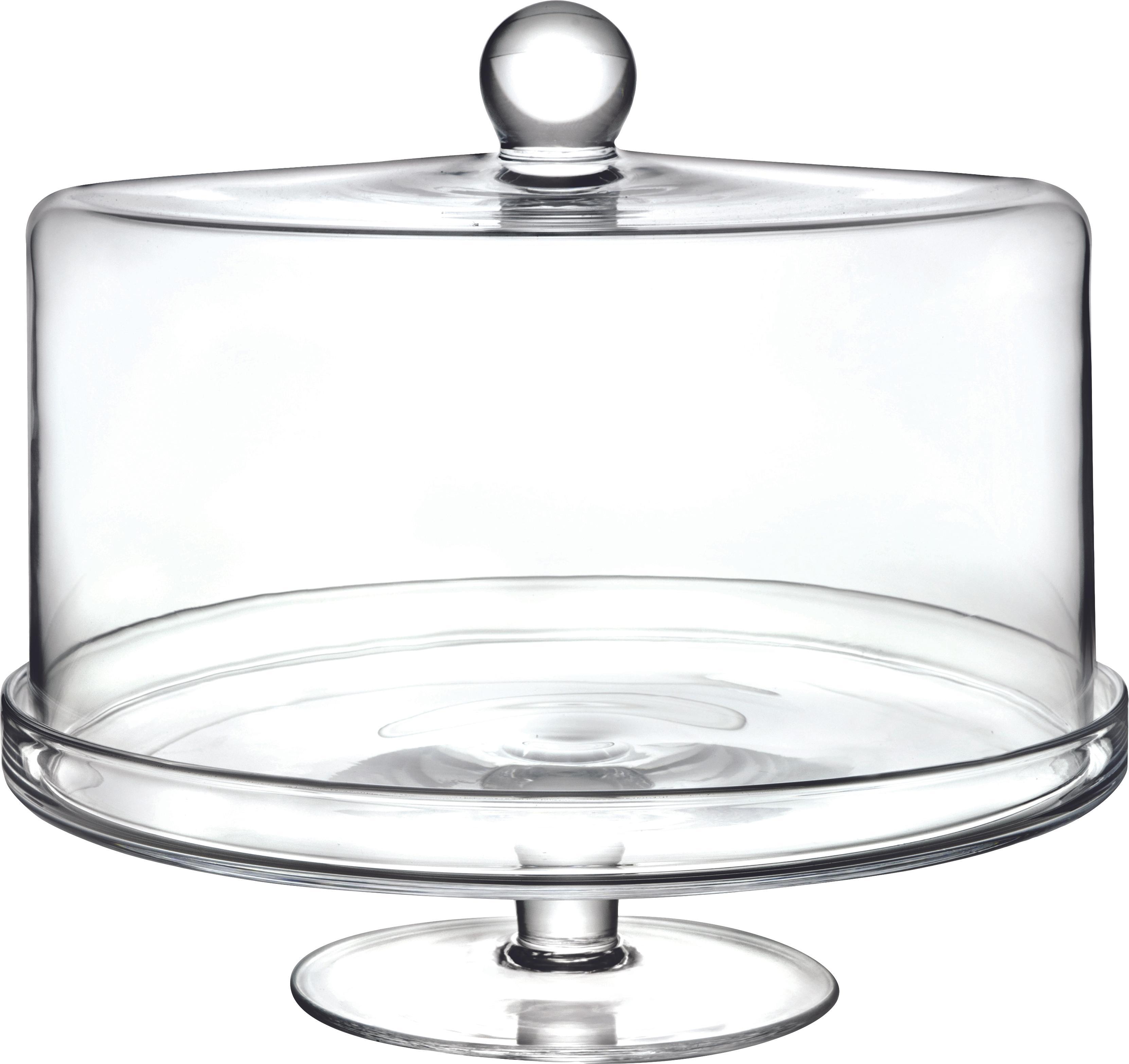 Alzata per dolci in cristallo Maja, Cristallo Luxion, Trasparente, Ø 30 x A 25 cm