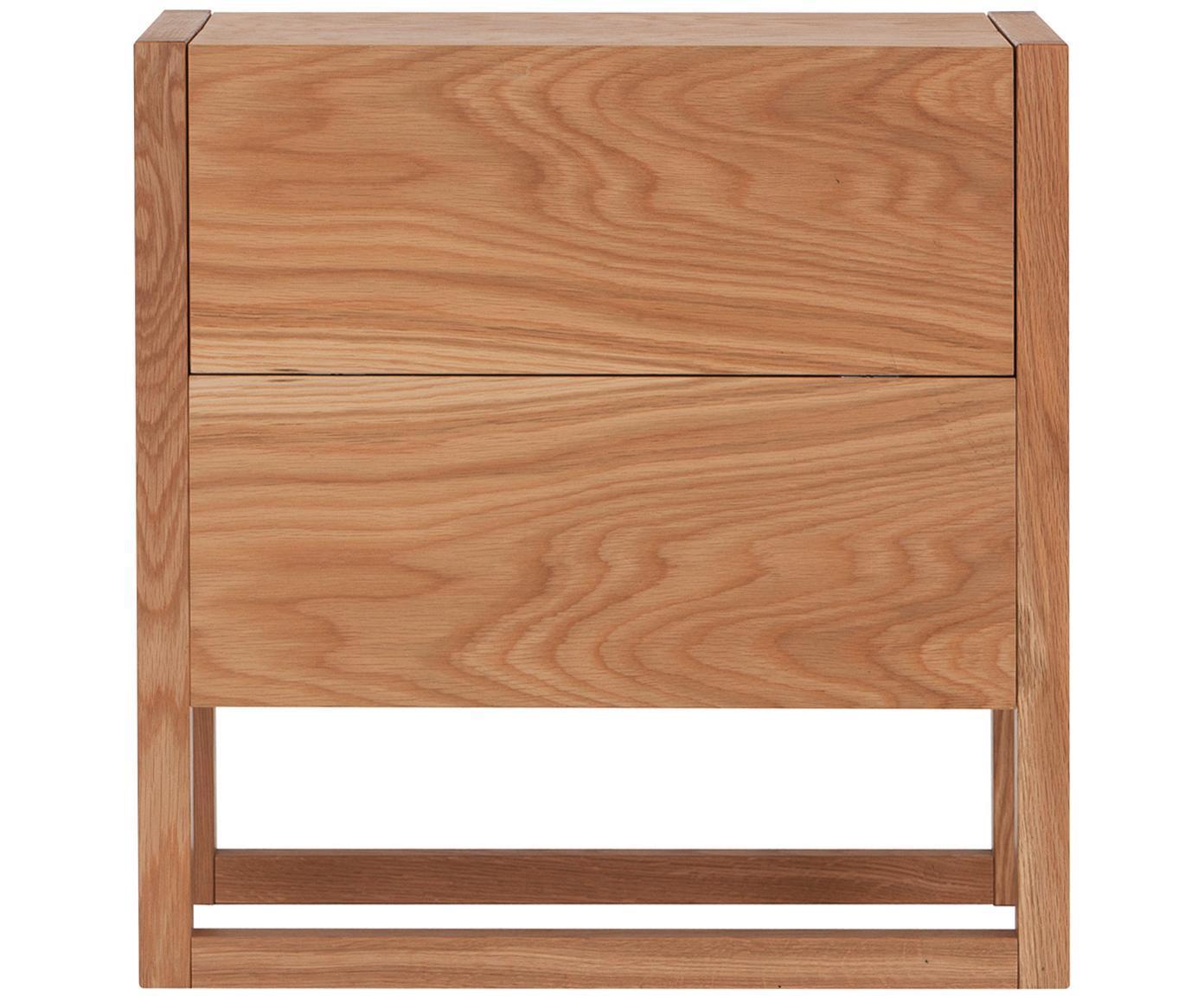 Minibar NewEst, Korpus: płyta pilśniowa (MDF) z f, Drewno dębowe, S 59 x W 60 cm
