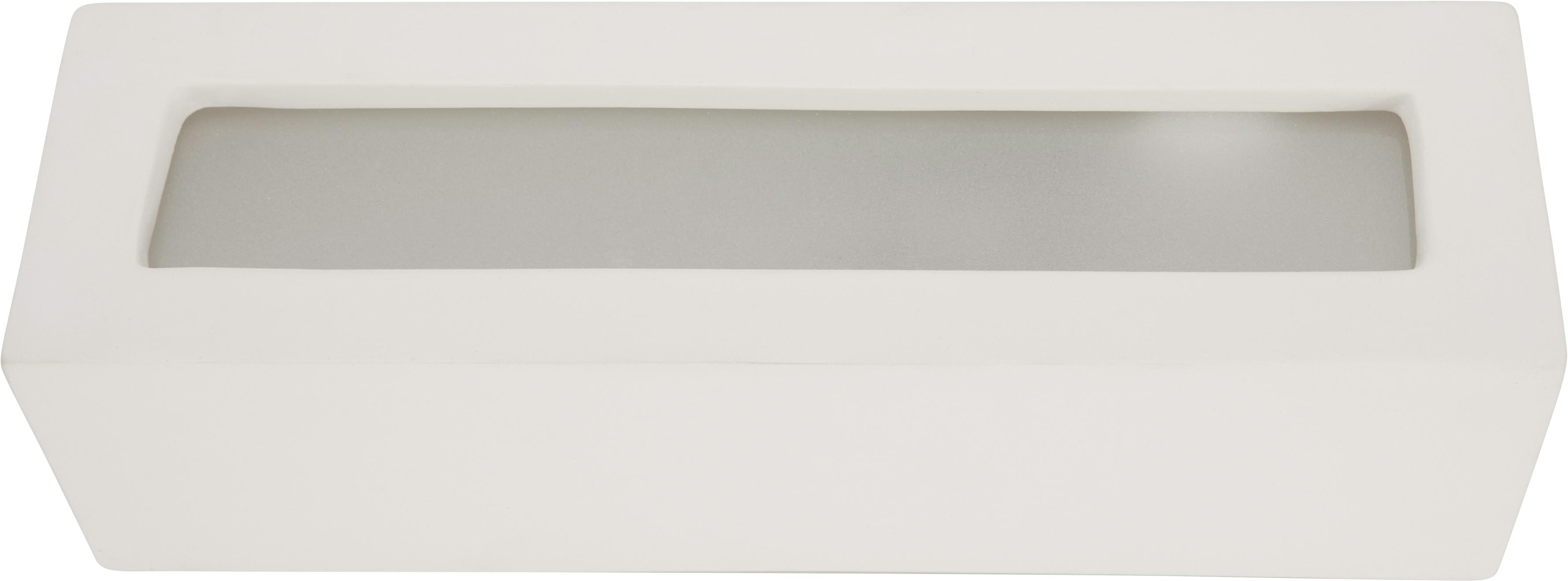 Applique céramique Madrid, Blanc