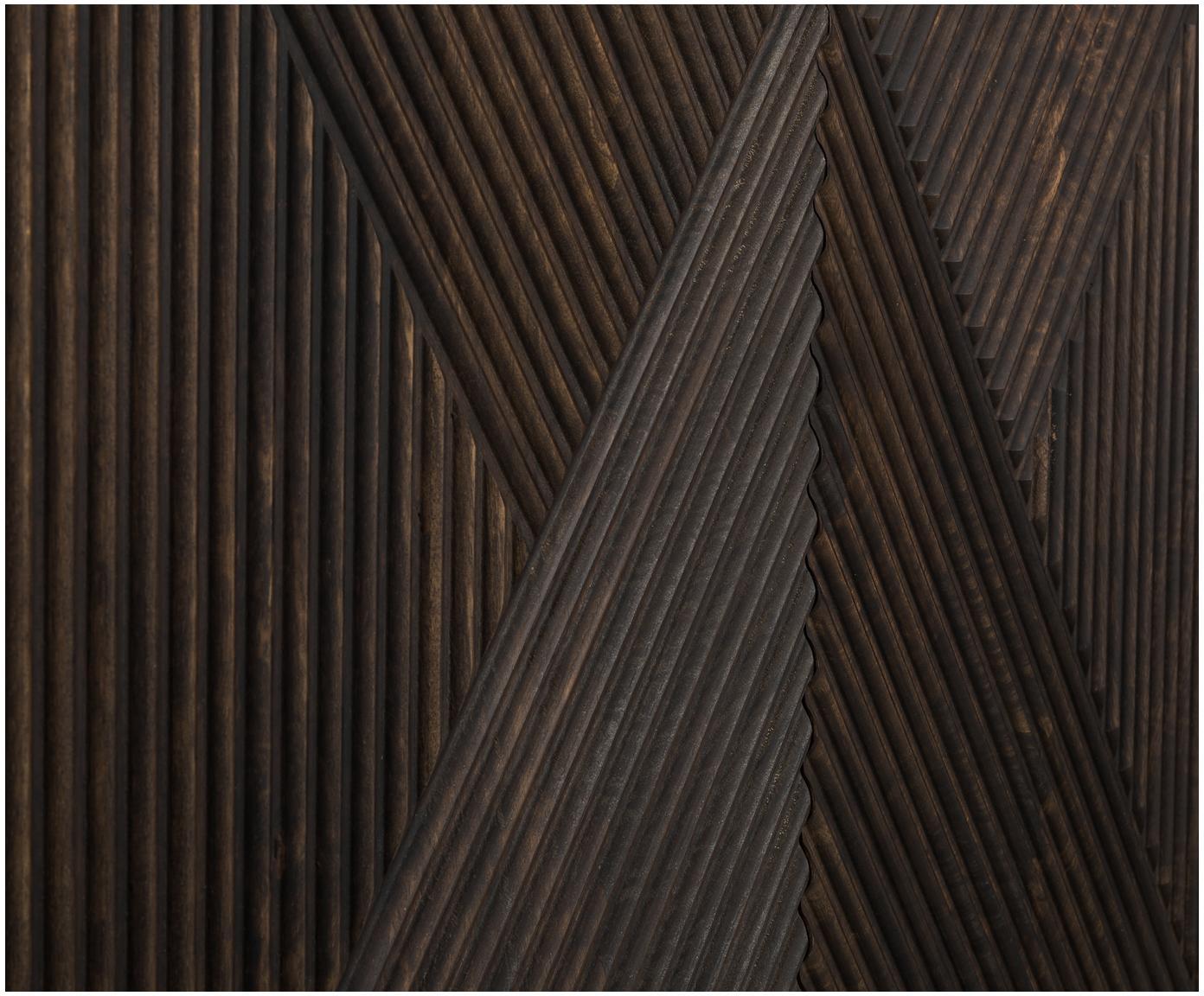 Komoda z masívu Louis, Lakované mangové drevo