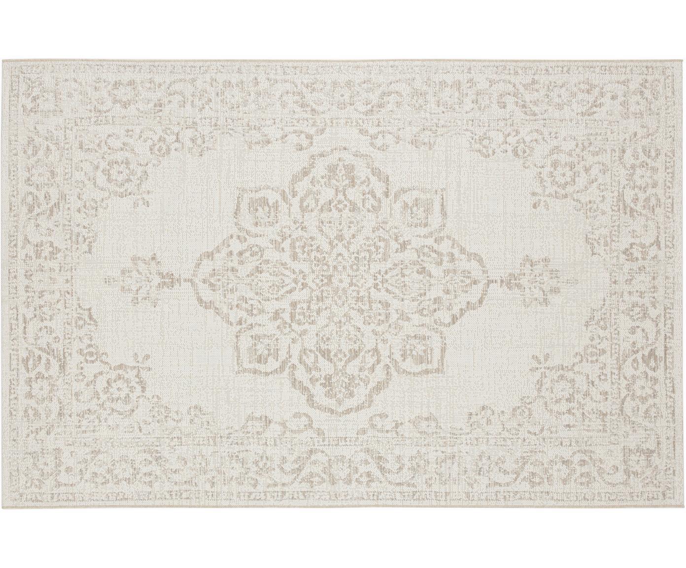 In- & Outdoor-Teppich Tilos im Vintage Style, 100% Polypropylen, Creme , Beige, B 80 x L 150 cm (Größe XS)