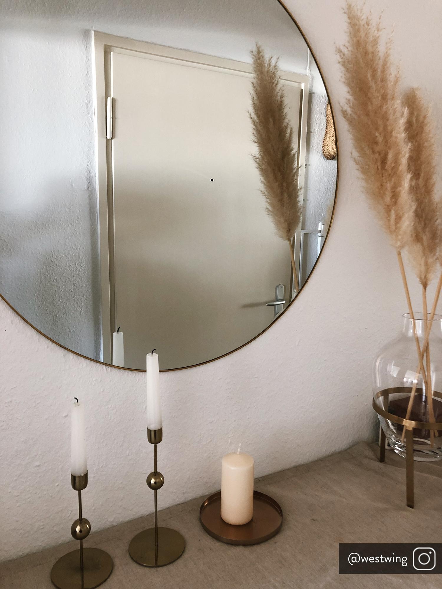 Candeliere decorativo Udine, Acciaio, rivestito, Ottone, Ø 15 x Alt. 1 cm