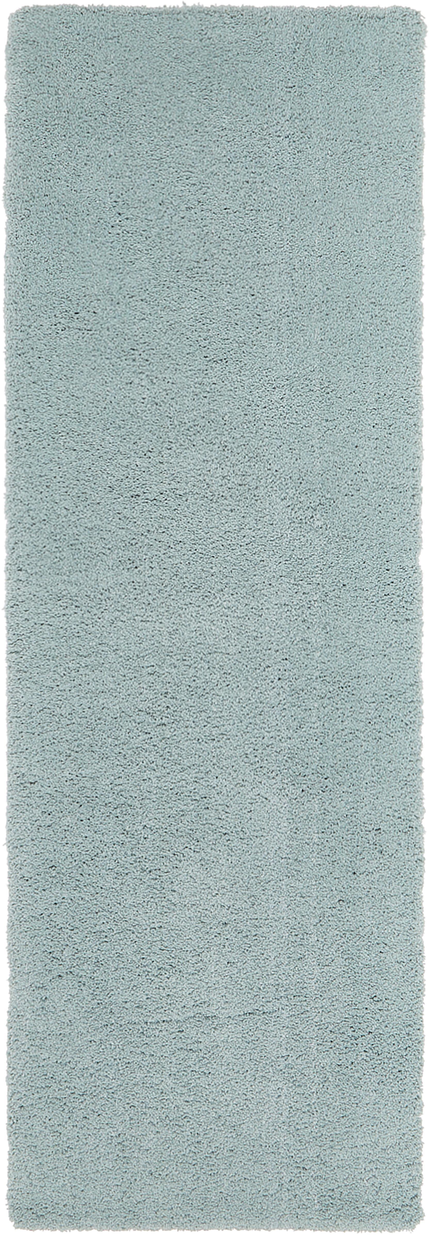 Puszysty chodnik Leighton, Zielony miętowy, S 80 x D 250 cm