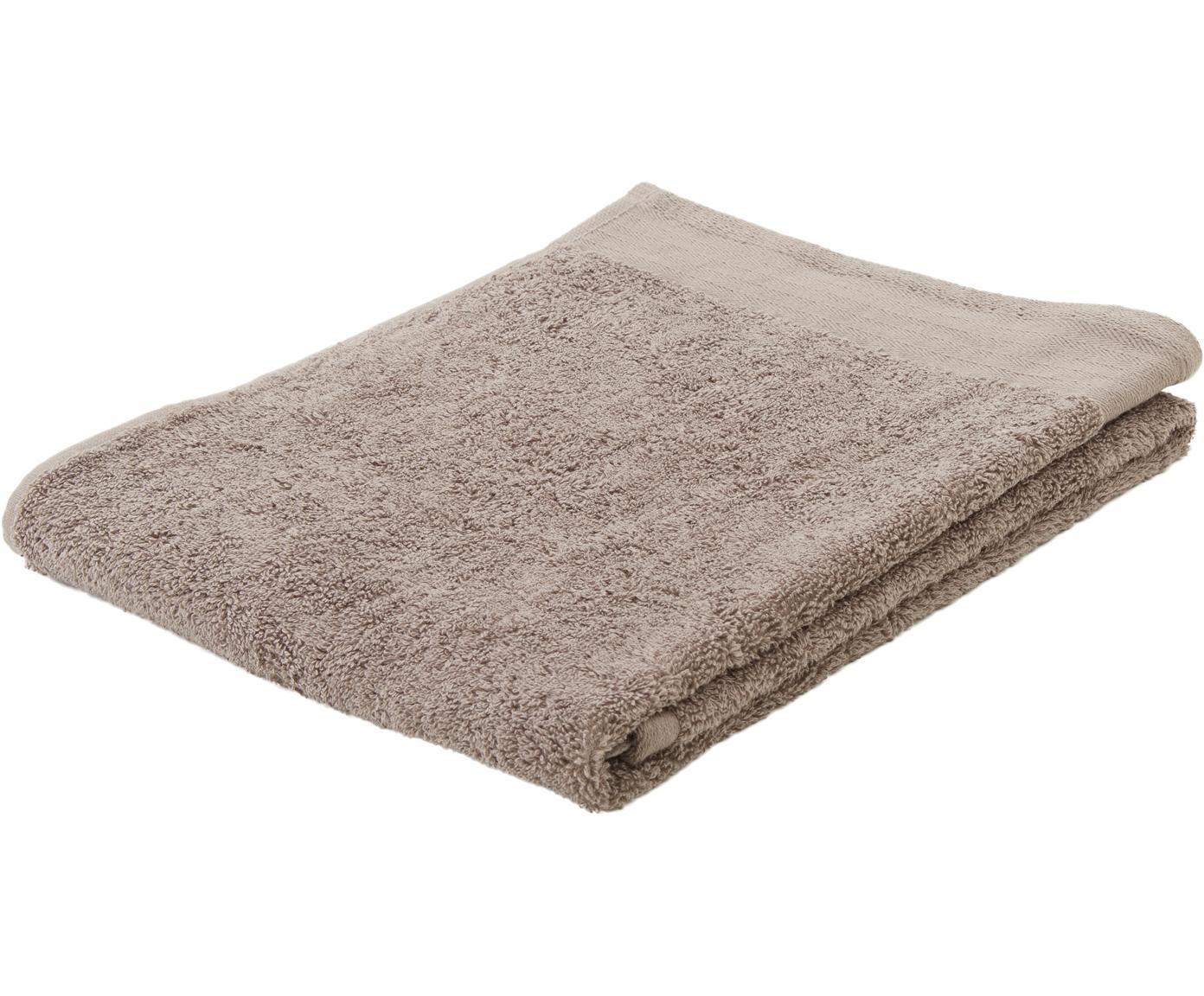 Handdoek Soft Cotton, Katoen, middelzware kwaliteit, 550 g/m², Taupe, Handdoek