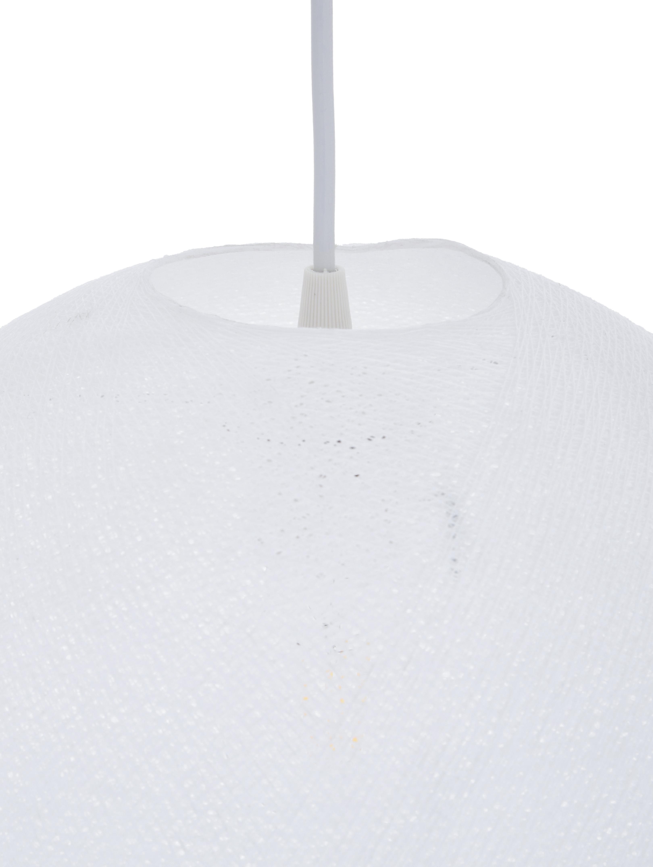 Lampada a sospensione Colorain, Bianco, Ø 31 x Alt. 135 cm