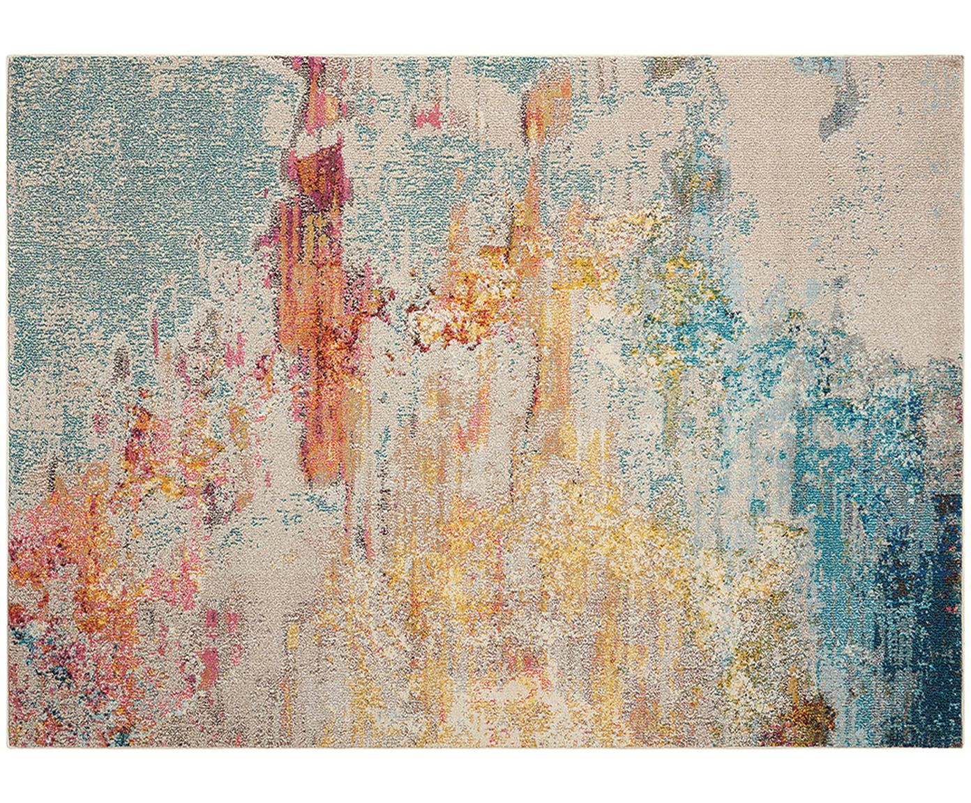 Design vloerkleed Celestial in kleur, Bovenzijde: polypropyleen, Onderzijde: jute, Multicolour, B 120 x L 180 cm (Maat S)